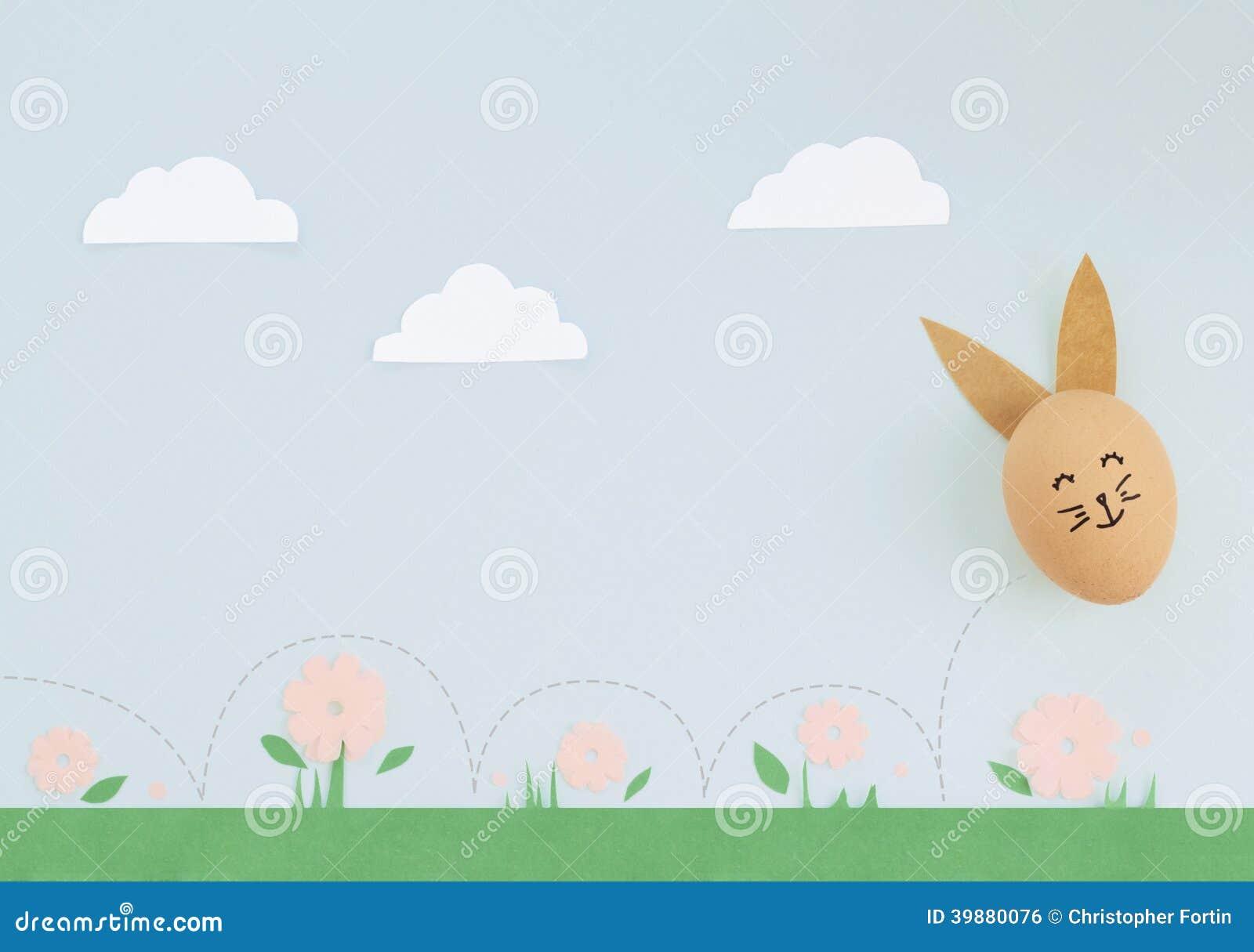 Яичко зайчика пасхи
