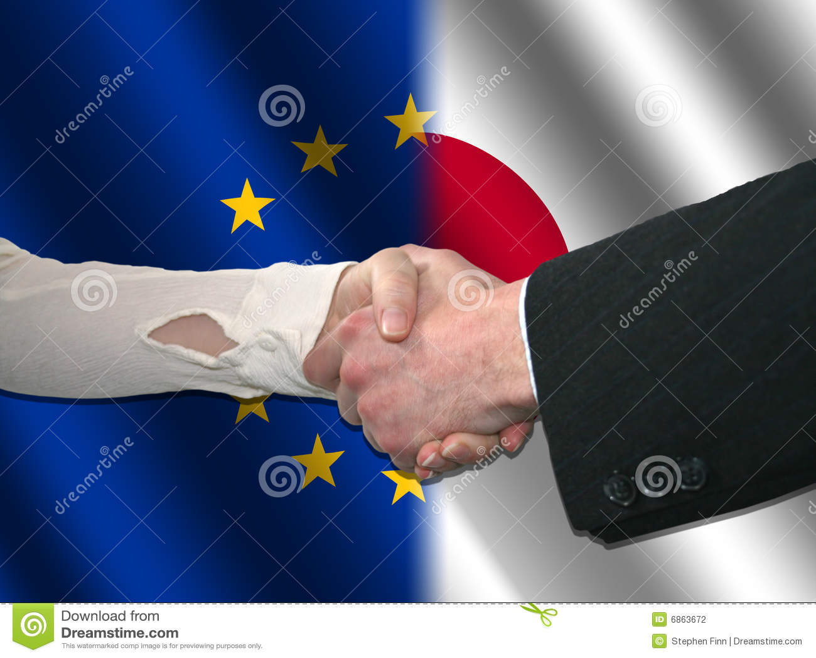 японец рукопожатия eu