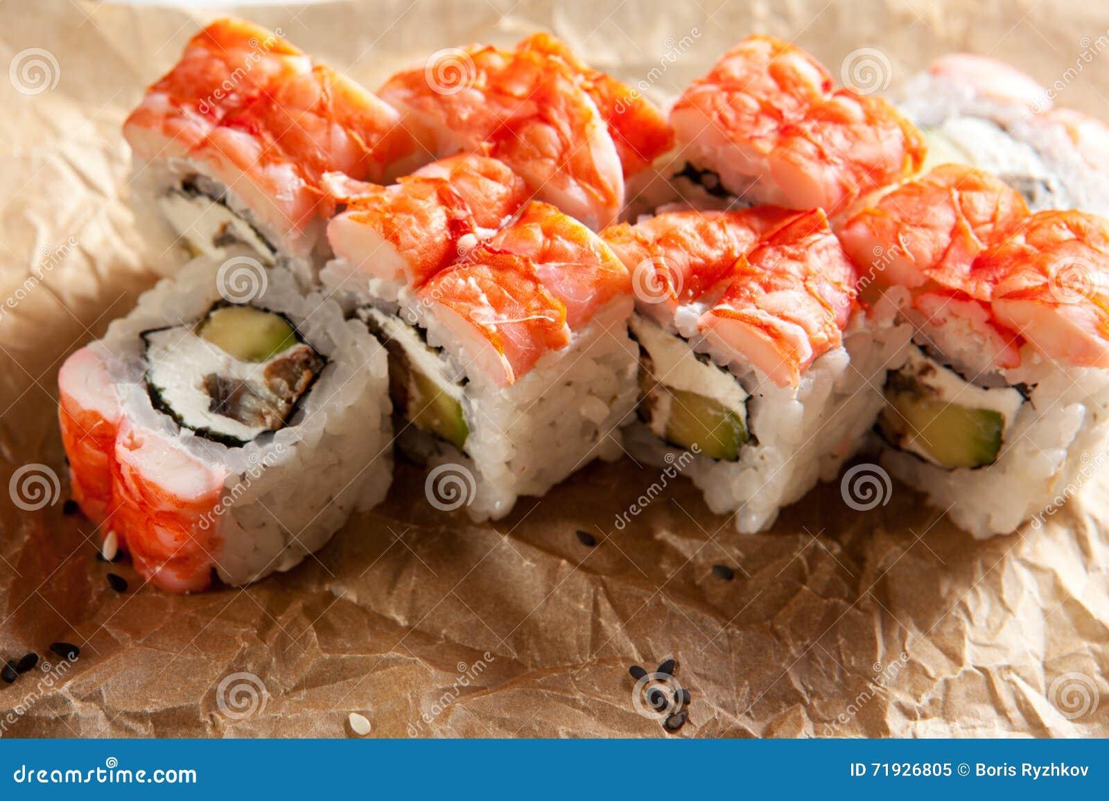 Японская кухня - суши