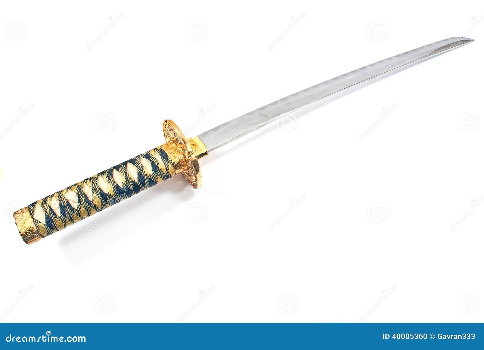 Японская шпага katana самураев