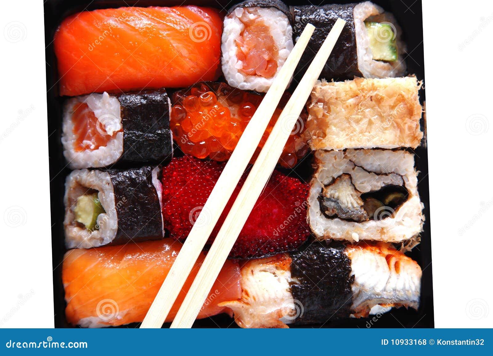 японские суши традиционные