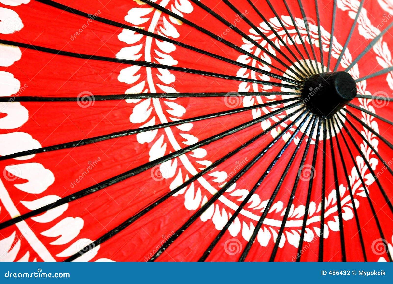 японский традиционный зонтик