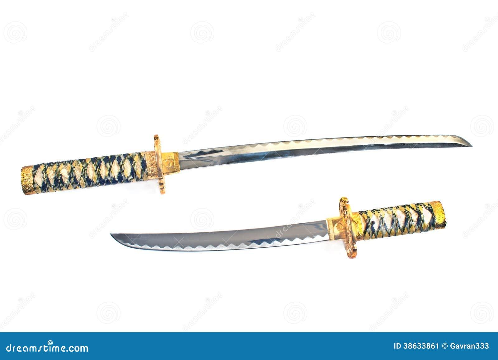 2 японских шпаги katana самураев