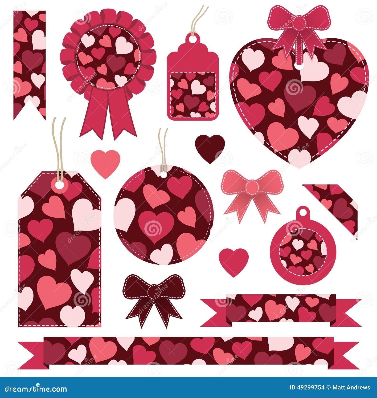 Ярлыки валентинки