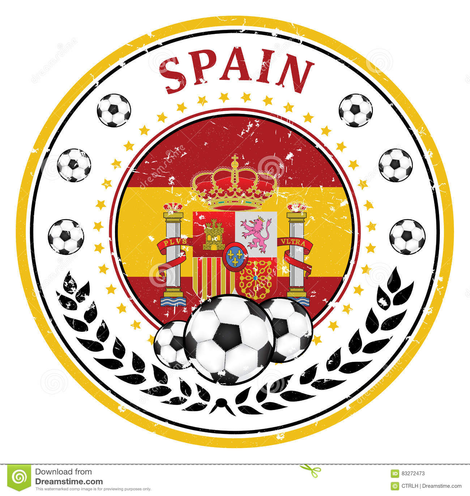 Футбольный знак испании