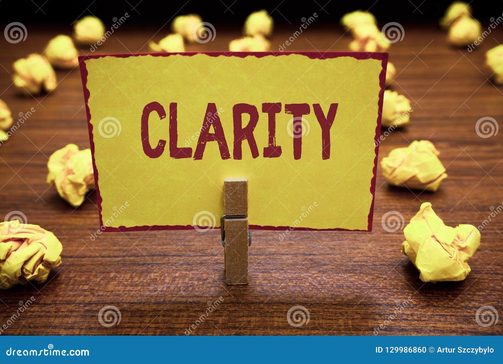 Ясность текста сочинительства слова Концепция дела для быть когерентной разборчивой постижимой ясной точностью идей