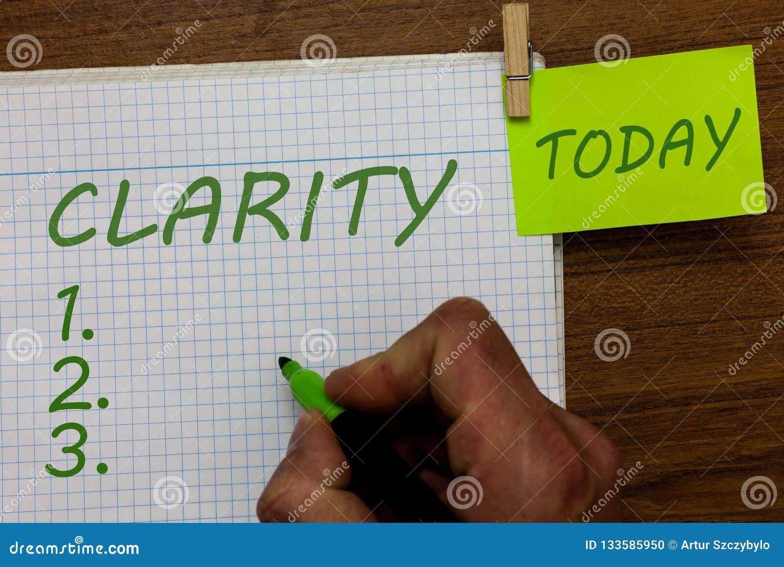 Ясность текста сочинительства слова Концепция дела для быть когерентным понятным понятным ясным человеком точности идей