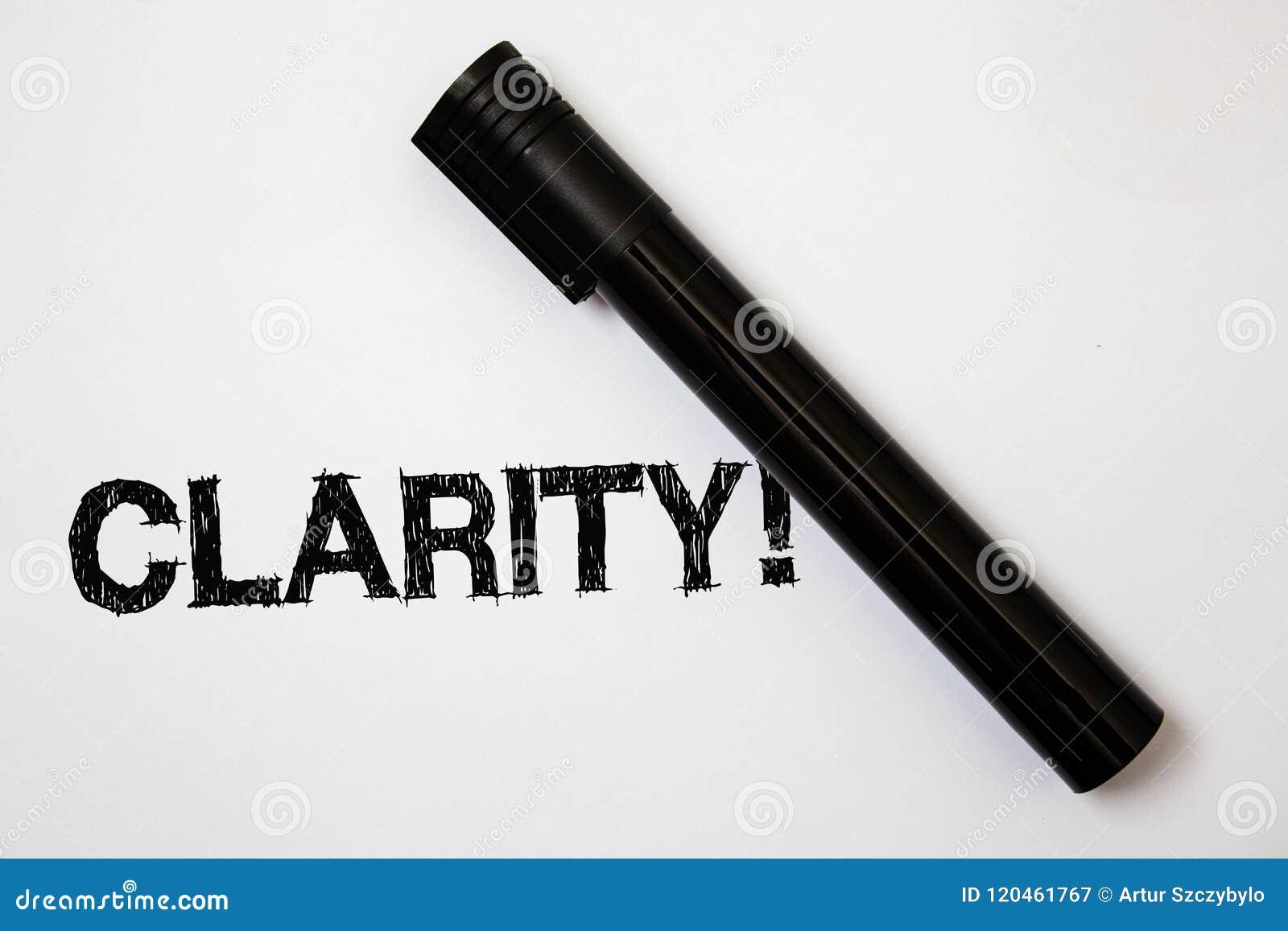 Ясность текста сочинительства слова Концепция дела для сообщений идей точности прозрачности усвояемости очищенности точности опре