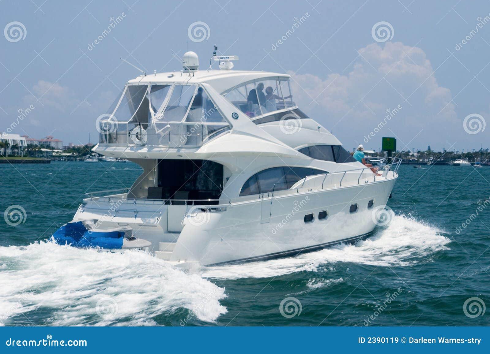 яхта океана
