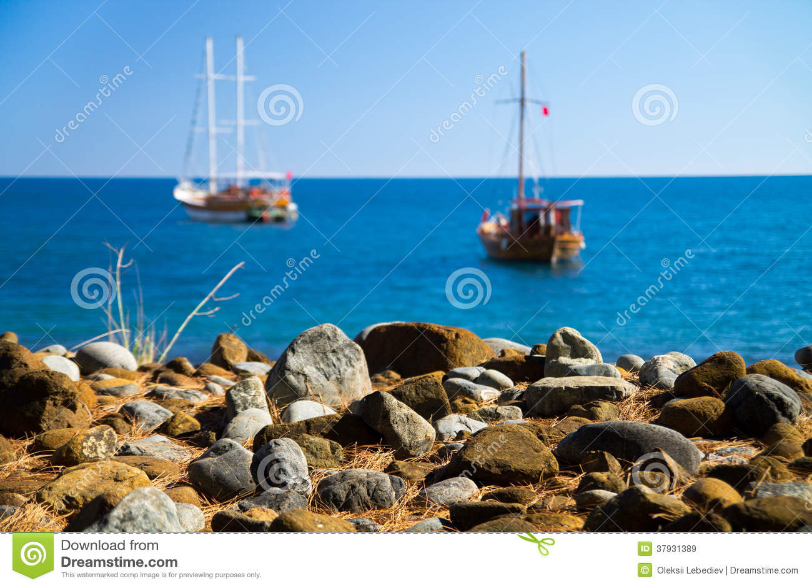 Яхты в заливе