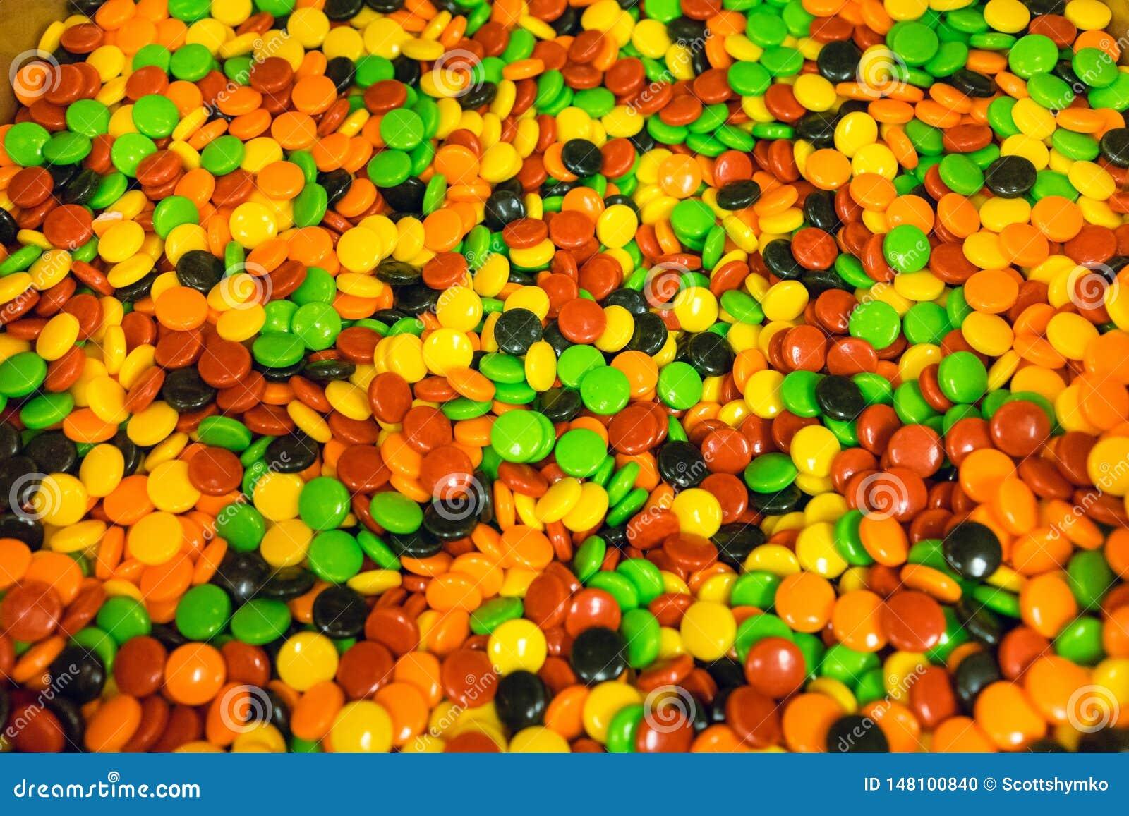 Ящик вполне красочной трудной конфеты