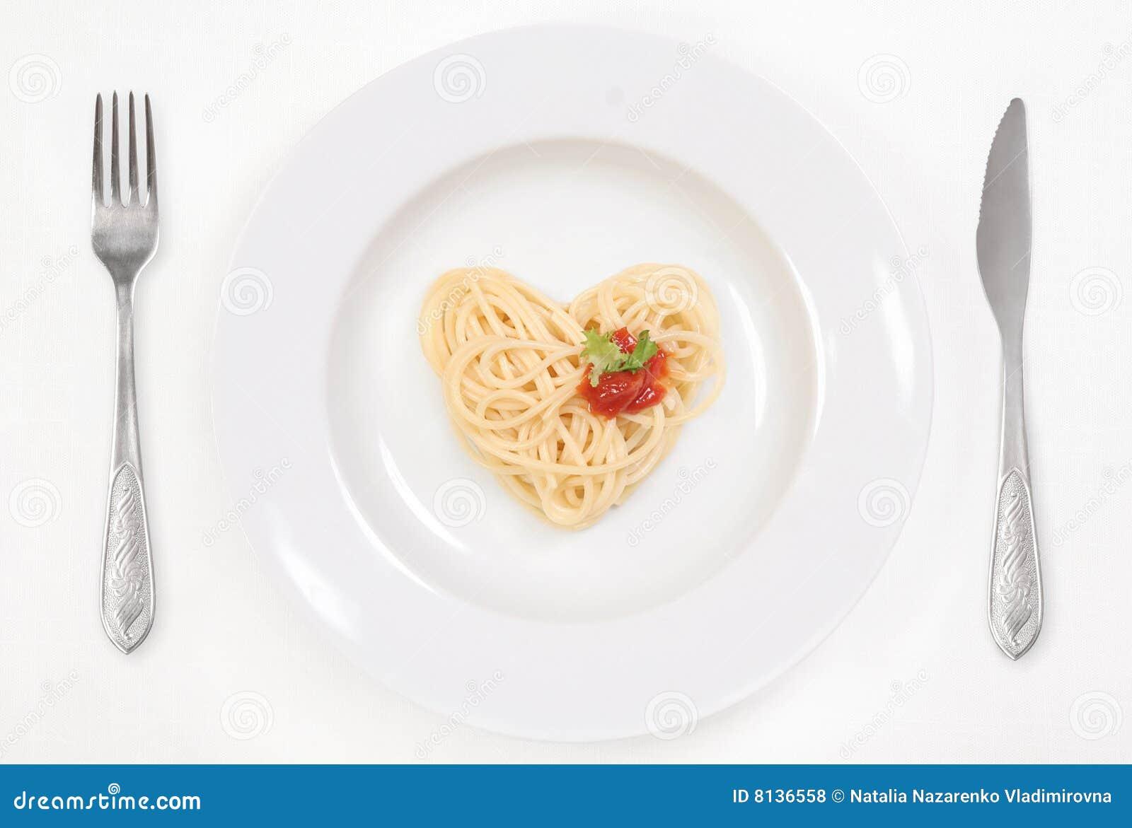 я люблю спагетти