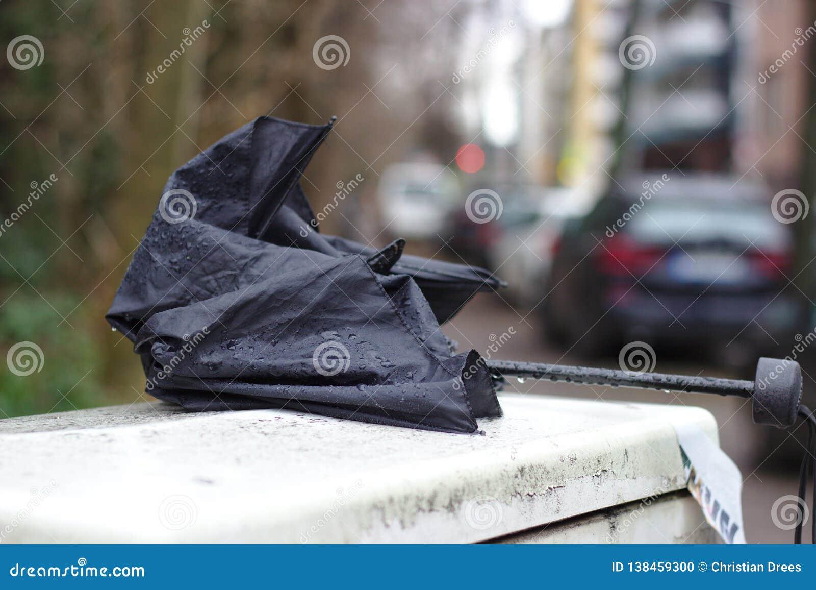 Я потерял мой зонтик