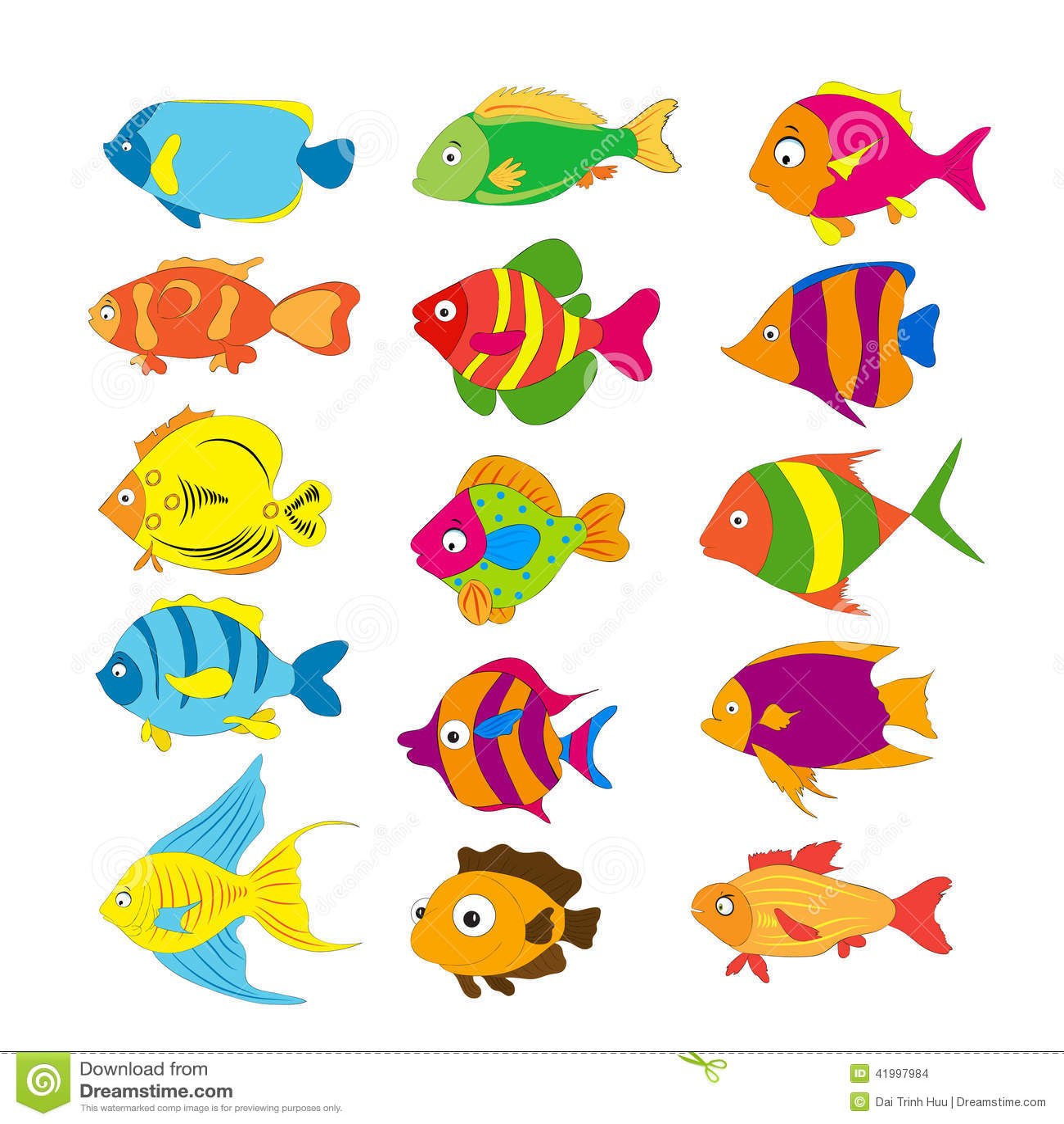 套热带鱼对象图片
