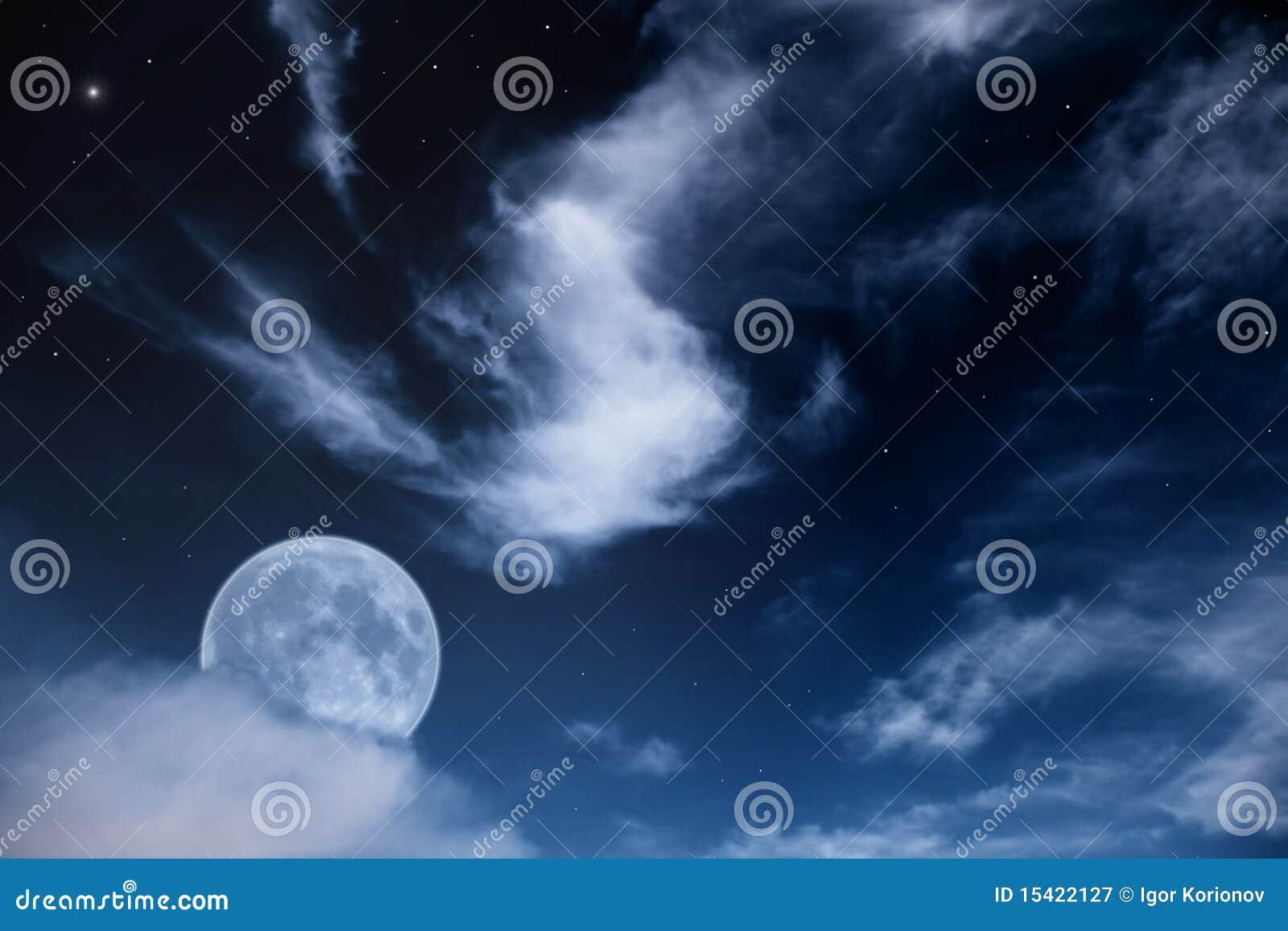 不能在没有月亮的夜里
