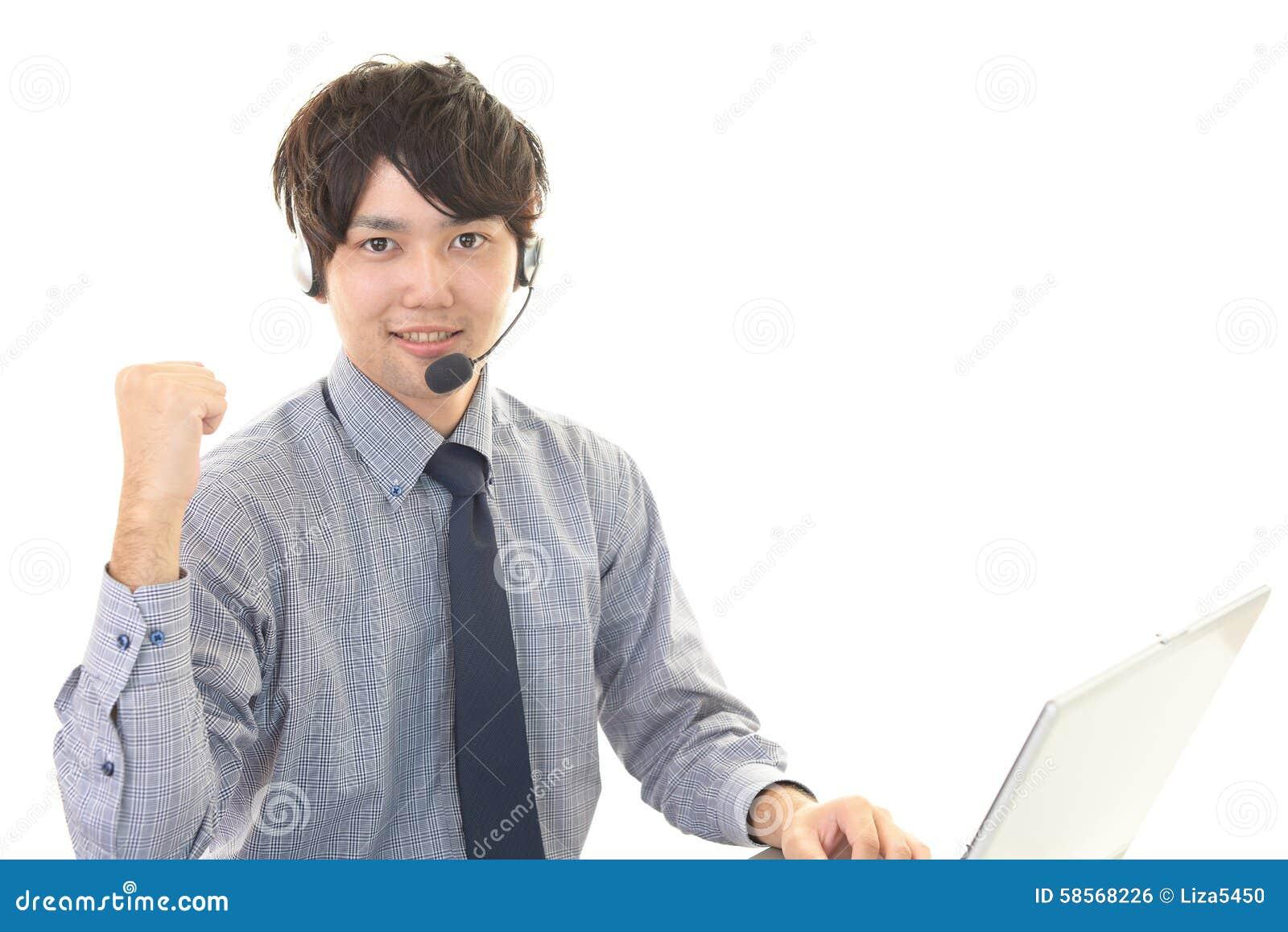 电话接线员的画象