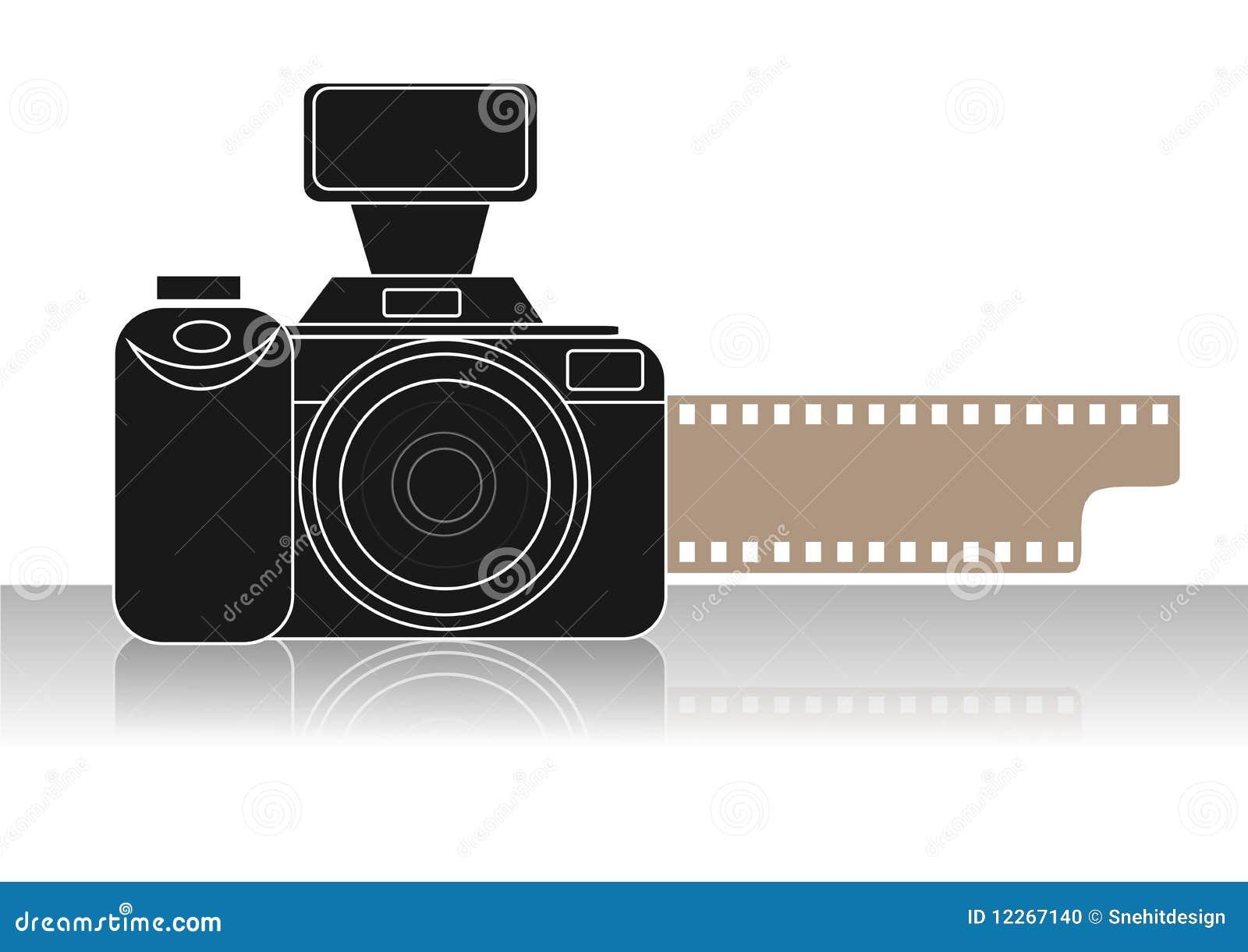 照相机图标 库存照片 图片