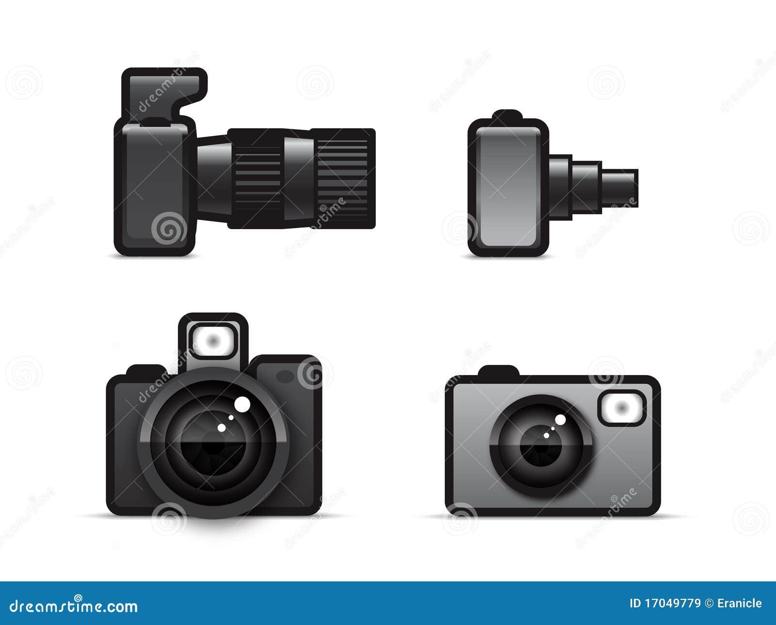 照相机图标 免版税库存图片图片
