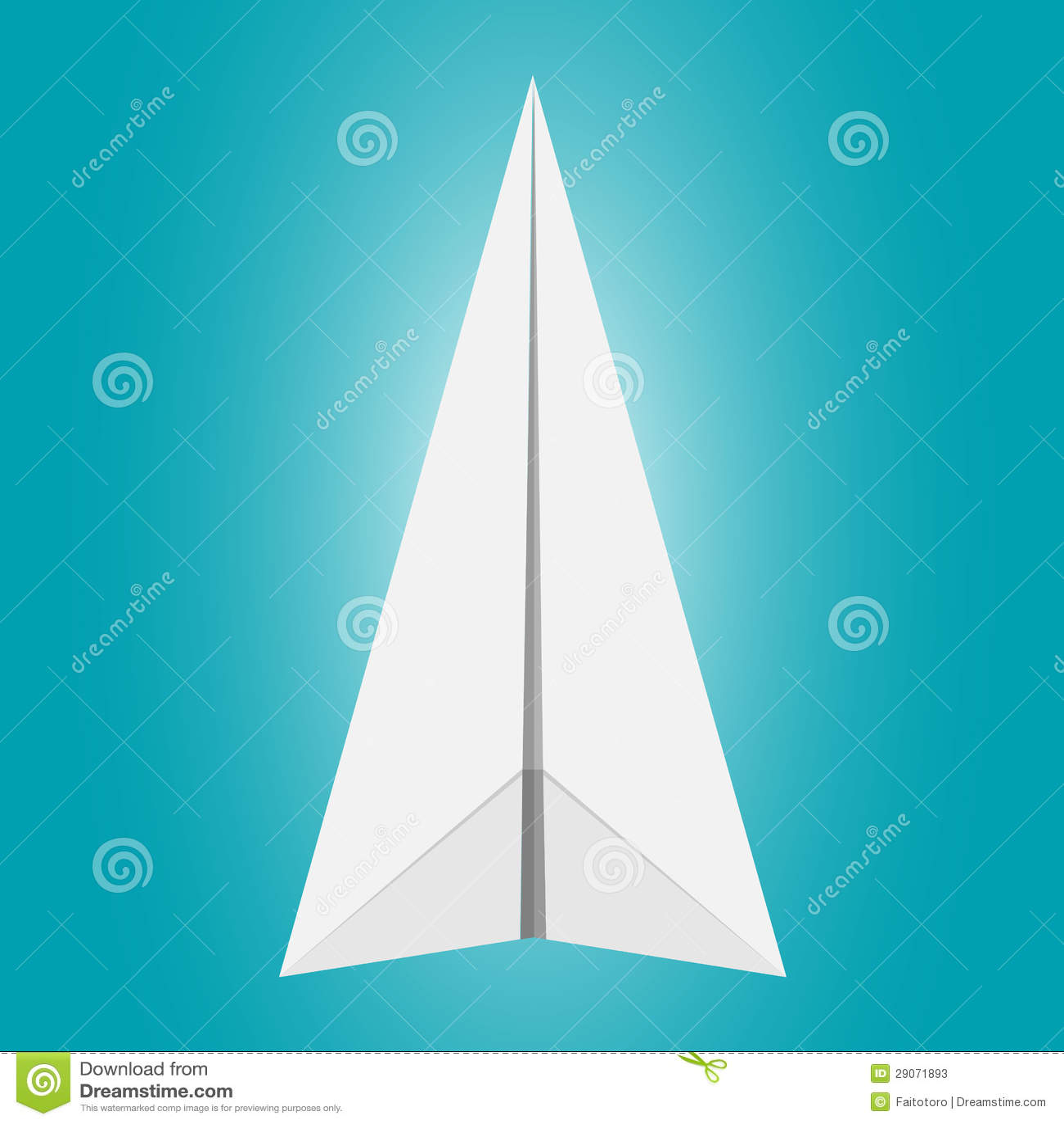 纸飞机 库存照片 - 图片