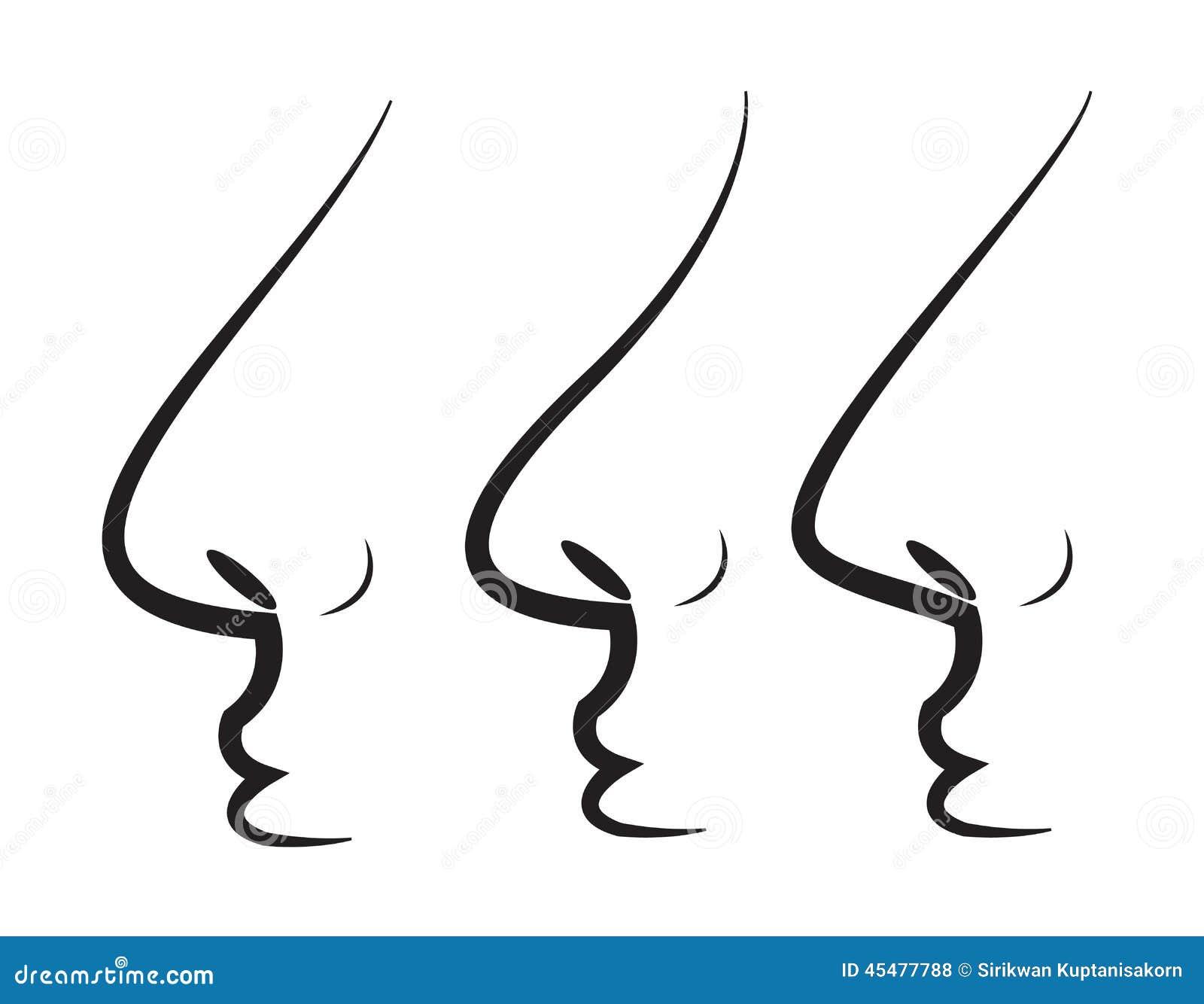 鼻子 向量例证 - 图片