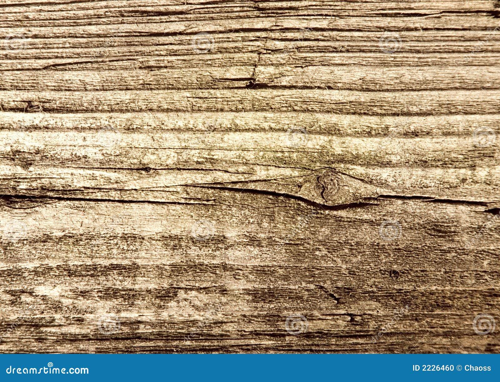 棕色老腐烂的纹理木头