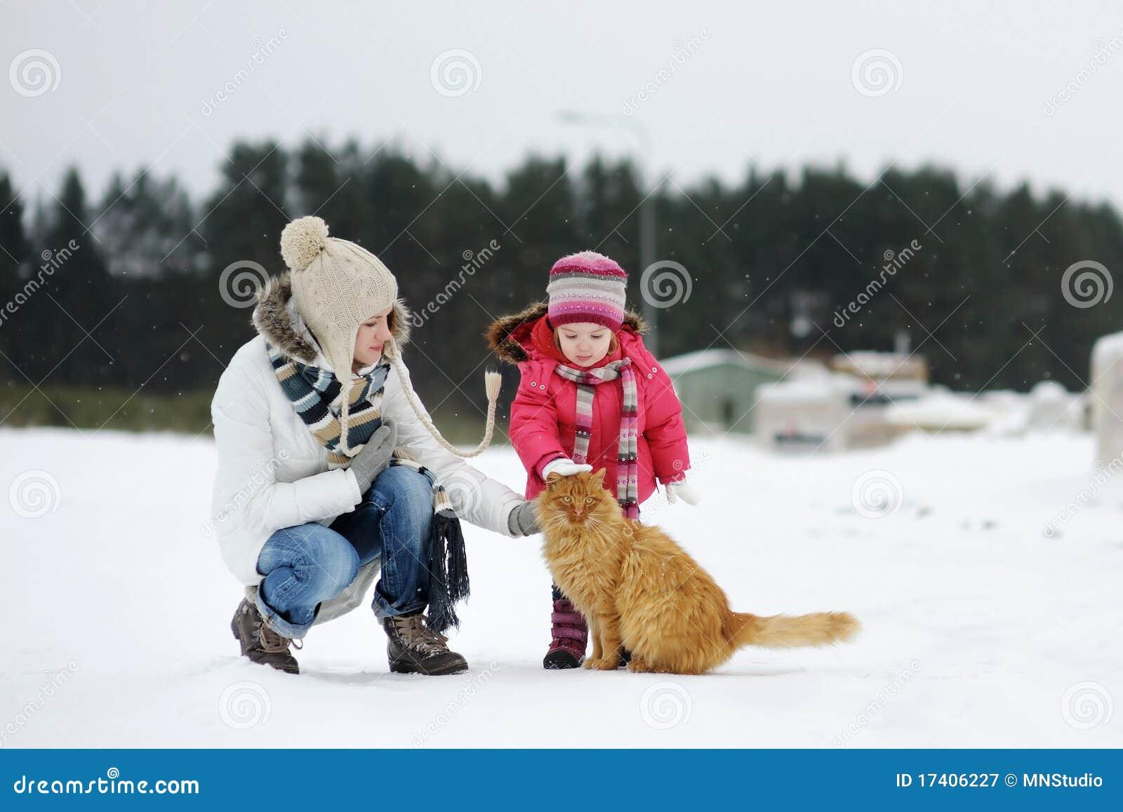 儿童冬季图片