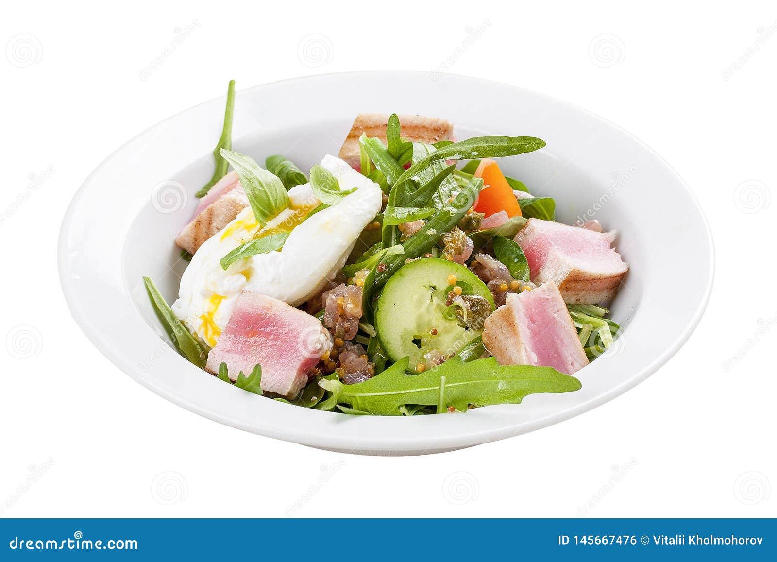 'A salada de Nicoise