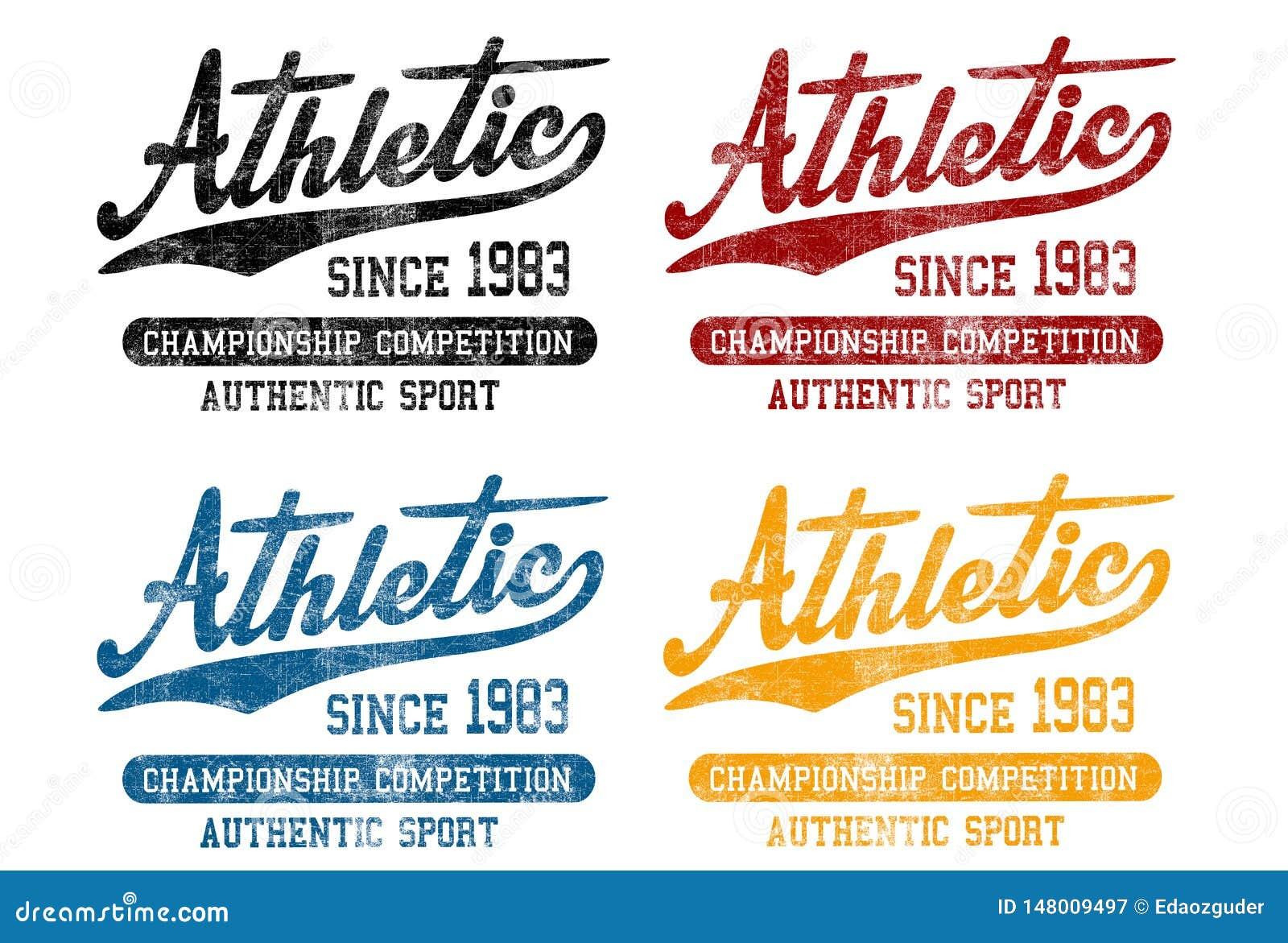 'Atletisch sinds 1983 ', 'de kampioenschapsconcurrentie ', 'authentieke sport 'patroon
