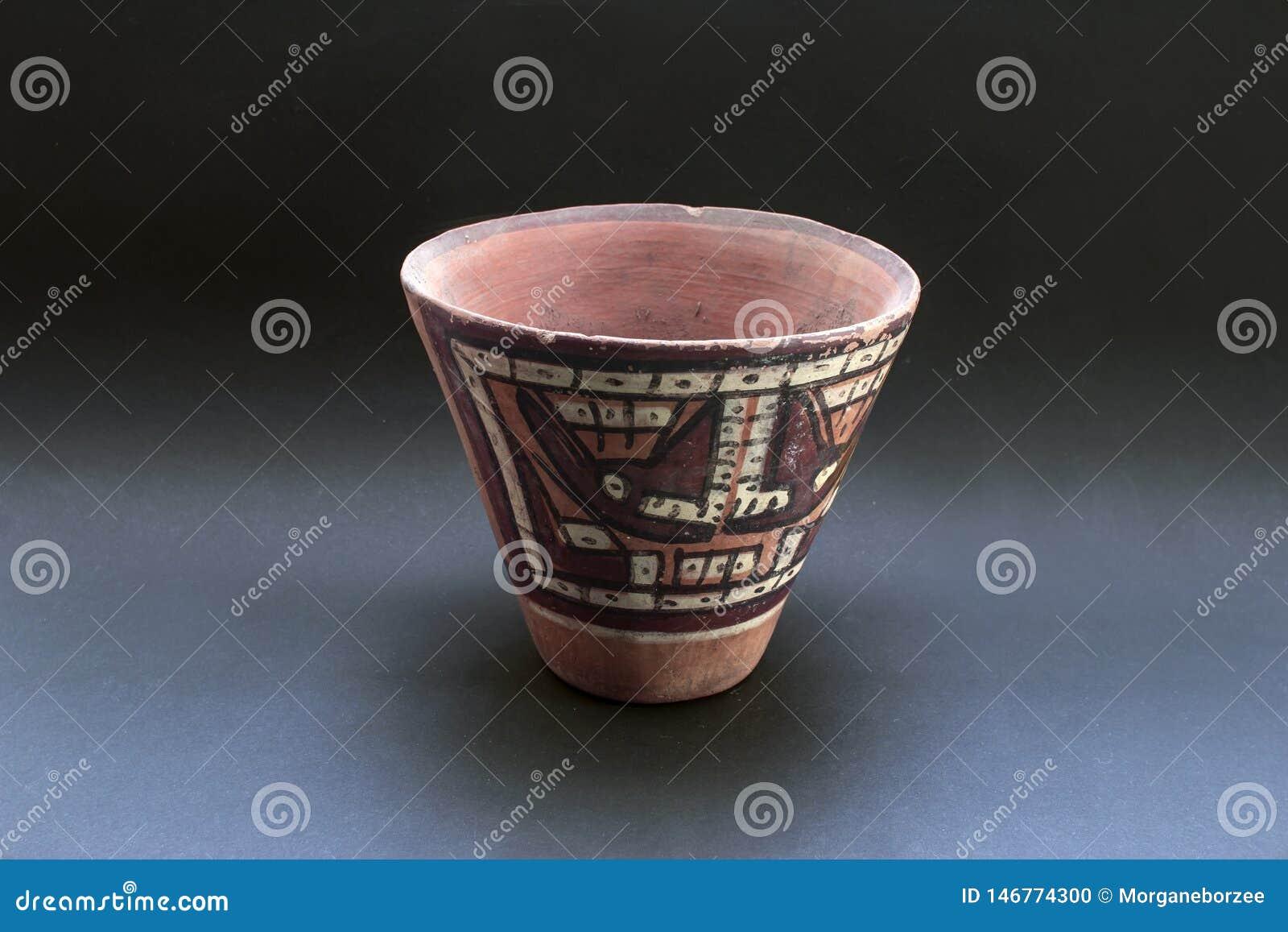"""""""Huaco """"chiamato ceramico Pre-colombiano da Nazca"""