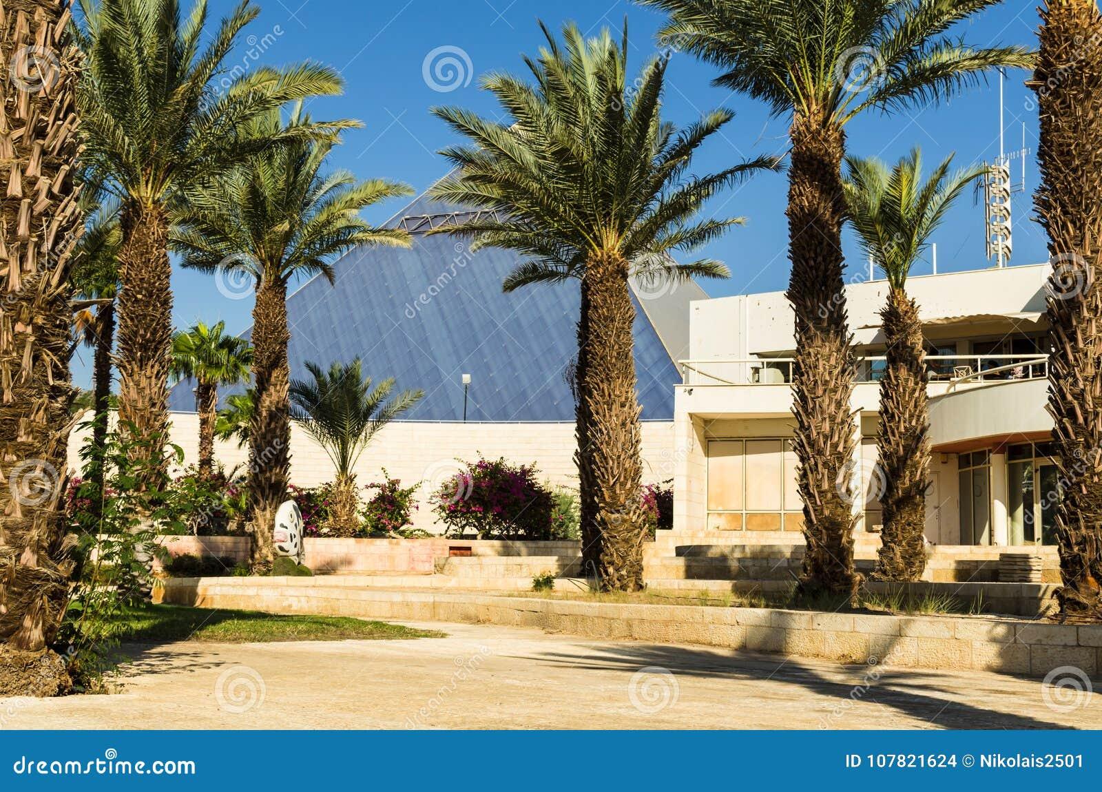 € «7-ое ноября 2017 Eilat, Израиля: центральный вход к ` Eilat Iri ` музея города, Eilat, Израиль