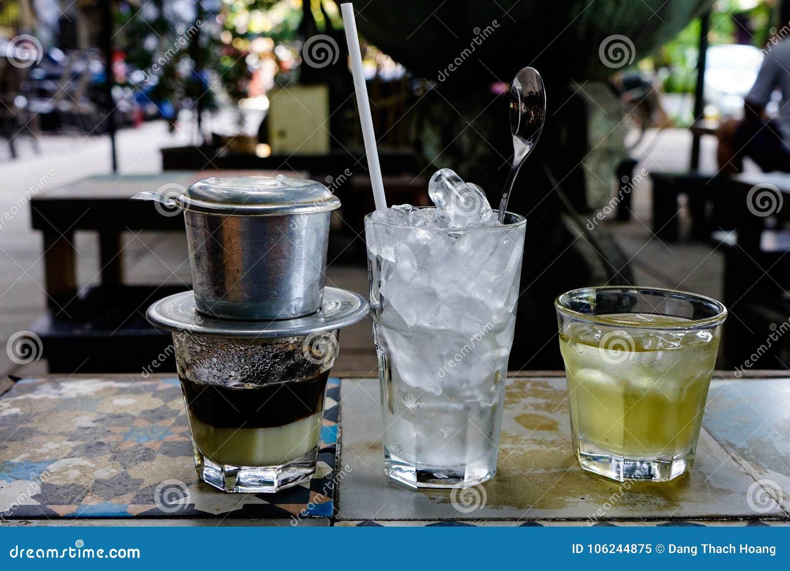 """€ vietnamiano """"Sua Da do leite do café"""