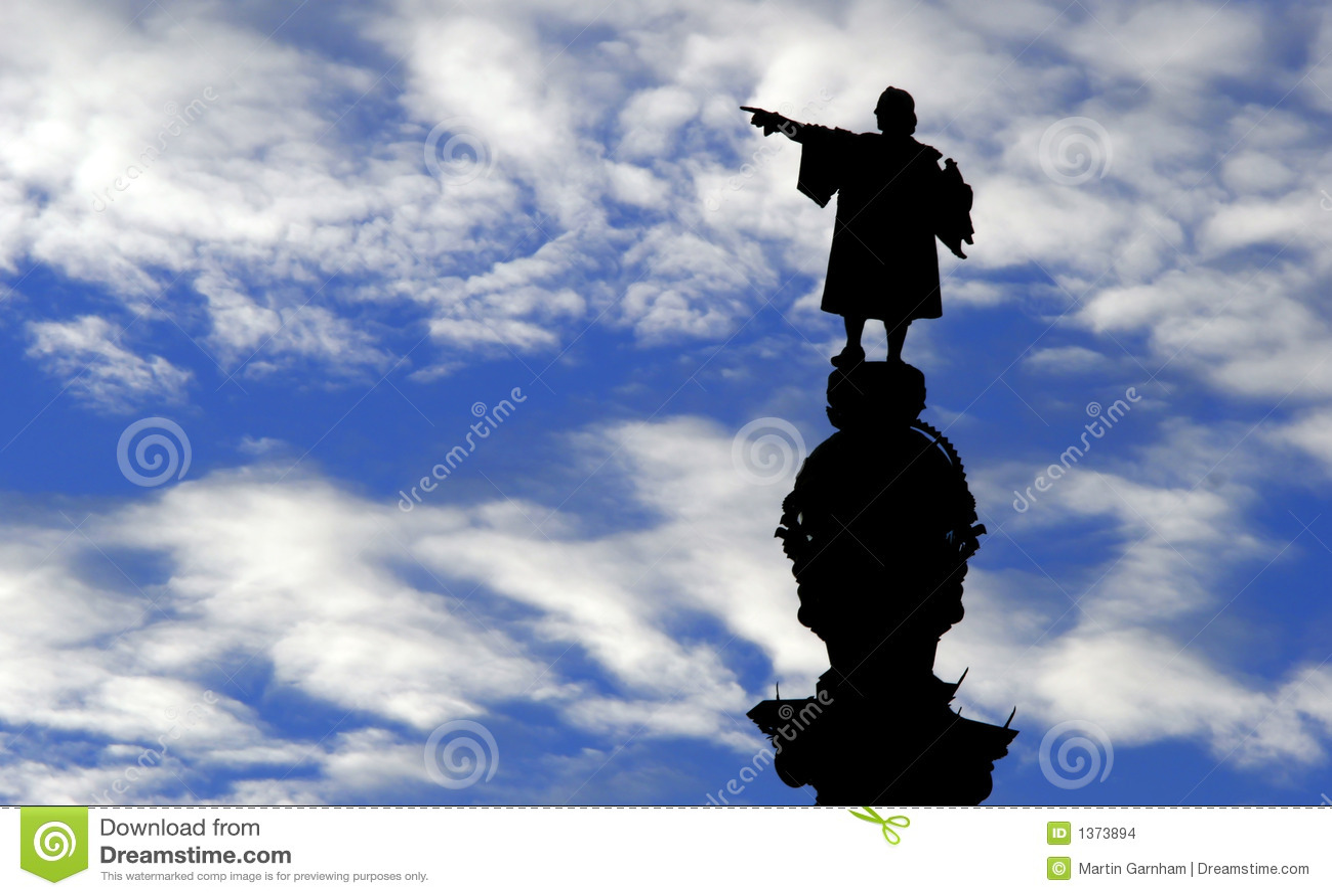 ・克里斯托弗哥伦布雕象