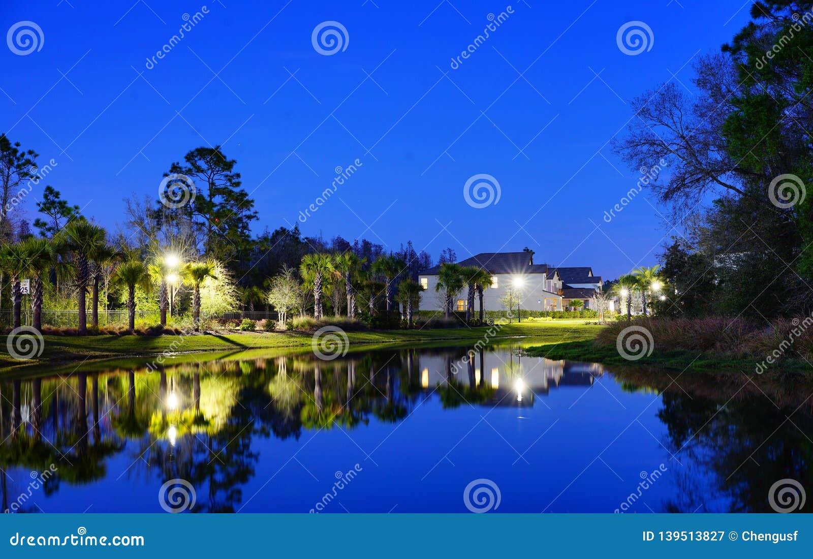 一个典型的佛罗里达房子