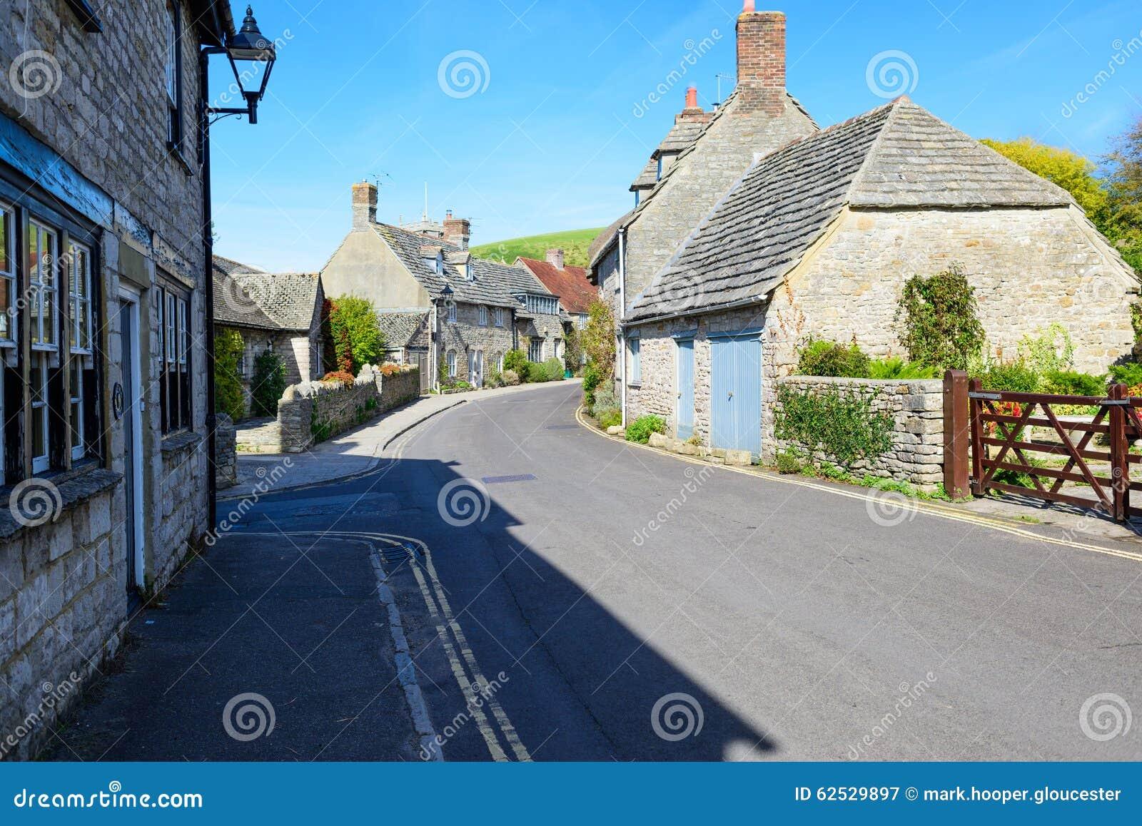 一个典型的英国村庄
