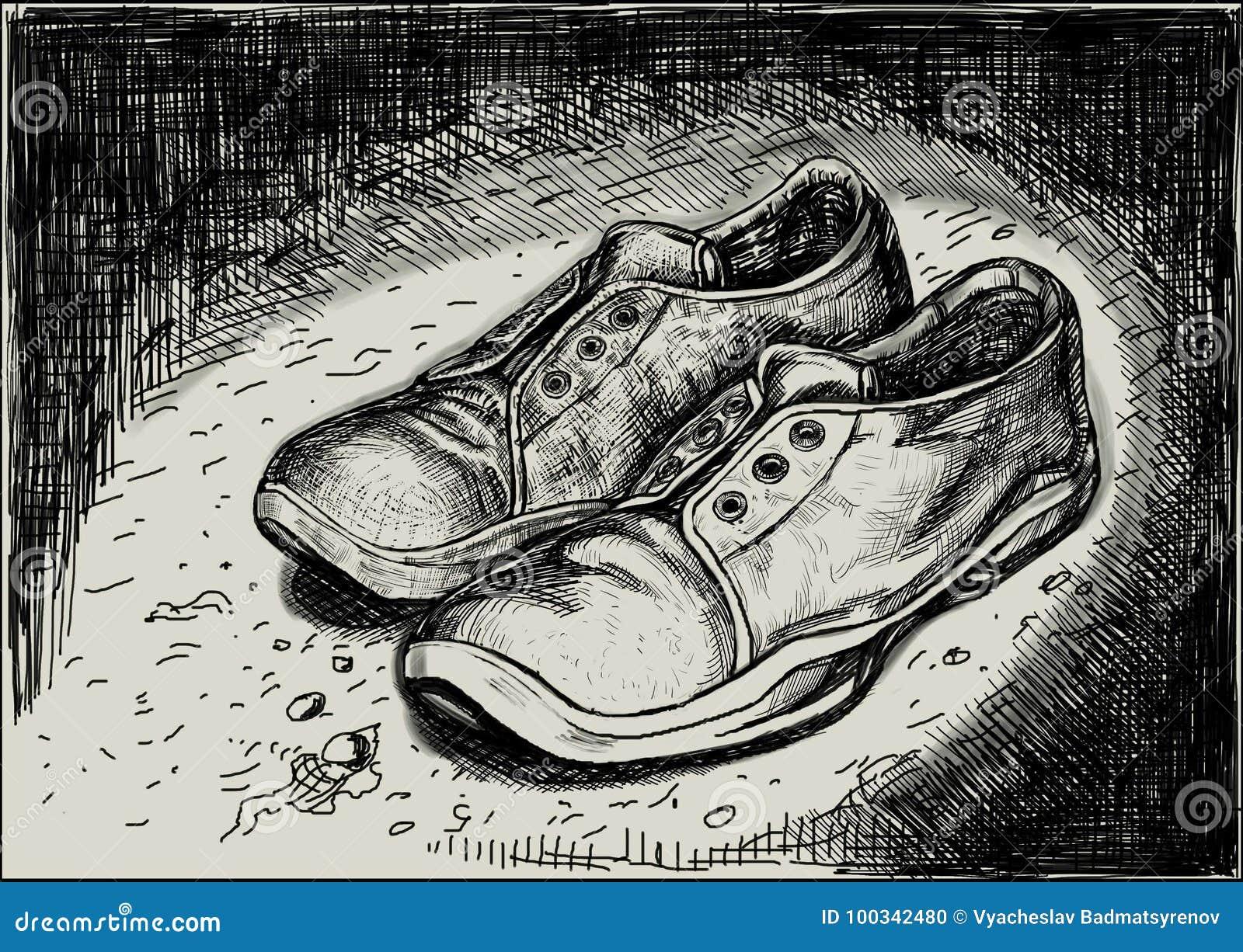 一个对运动鞋