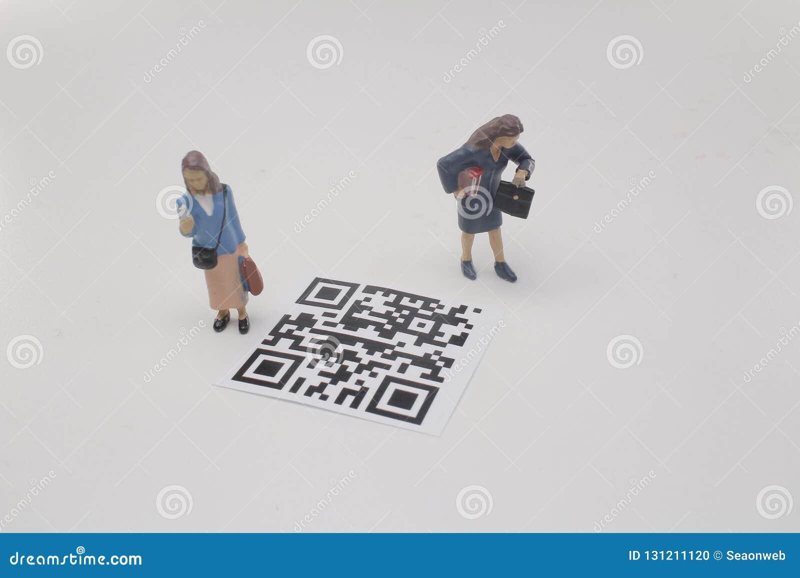 一个微型图屏幕第2计算机条码