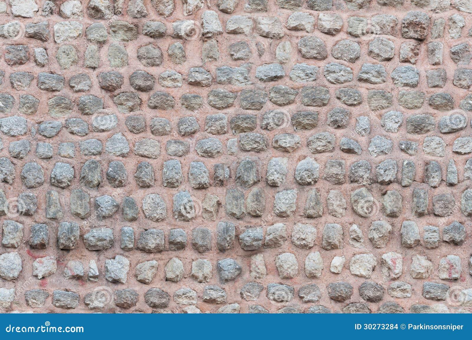 无缝的石墙