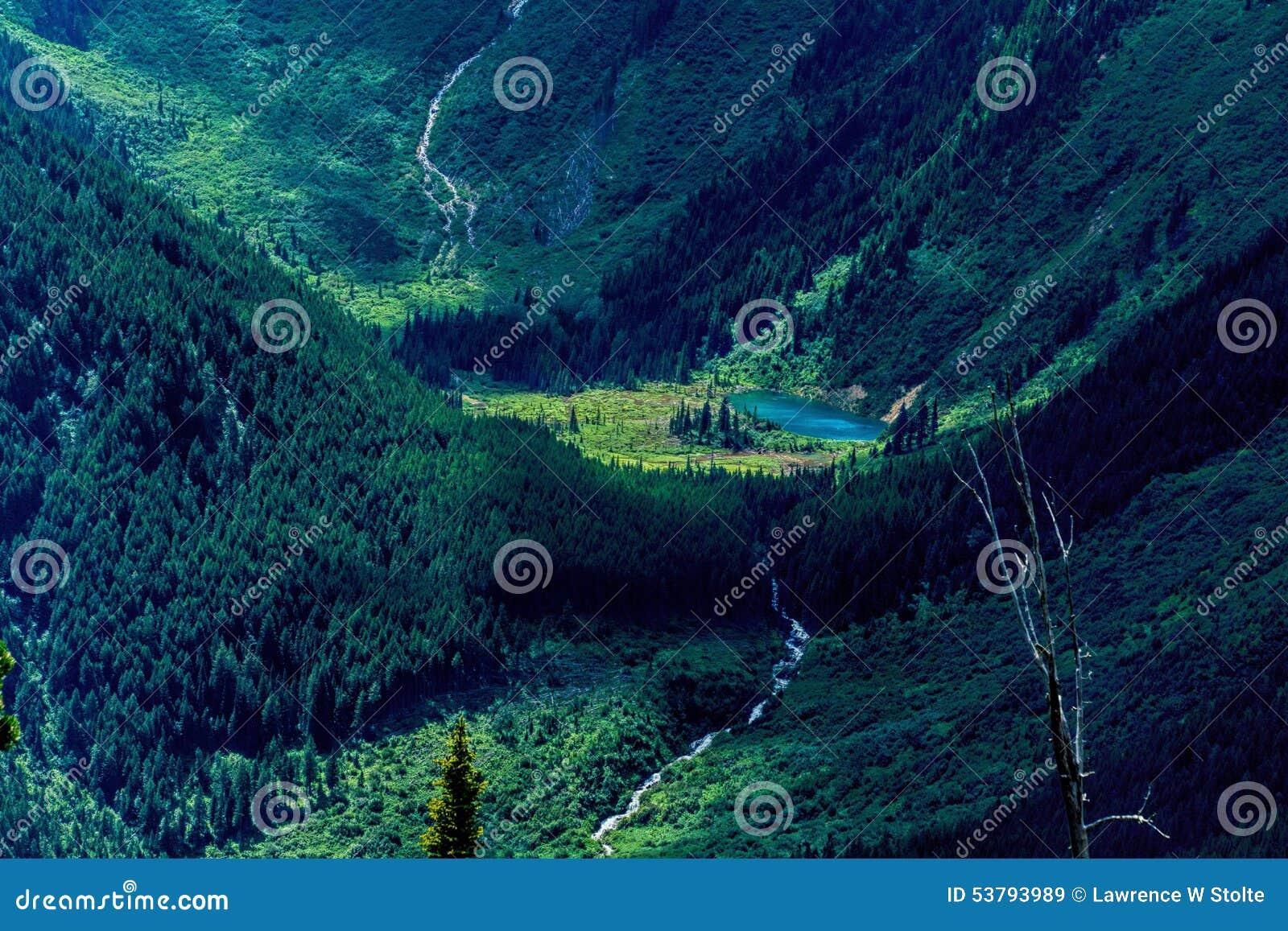 一个真实的Wilderness湖