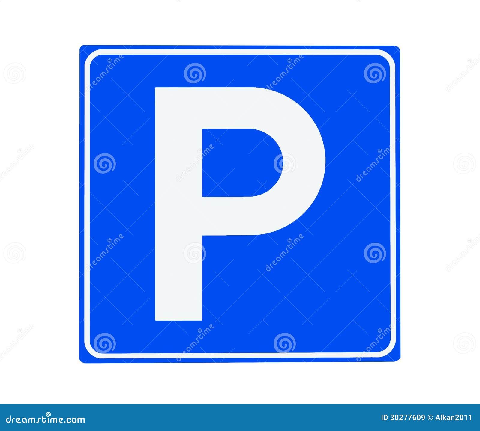 停车处标志