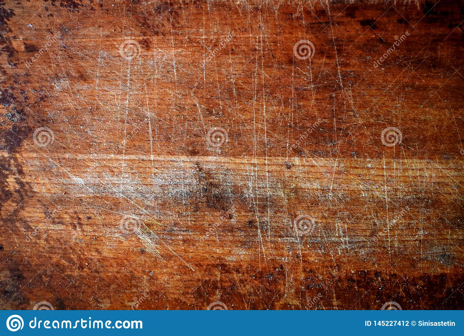 一块老木砧板