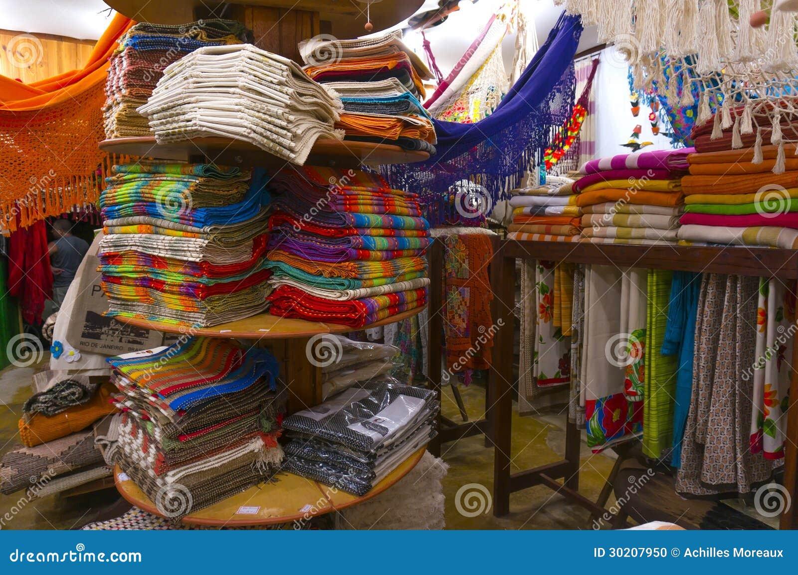纪念品商店在Paraty
