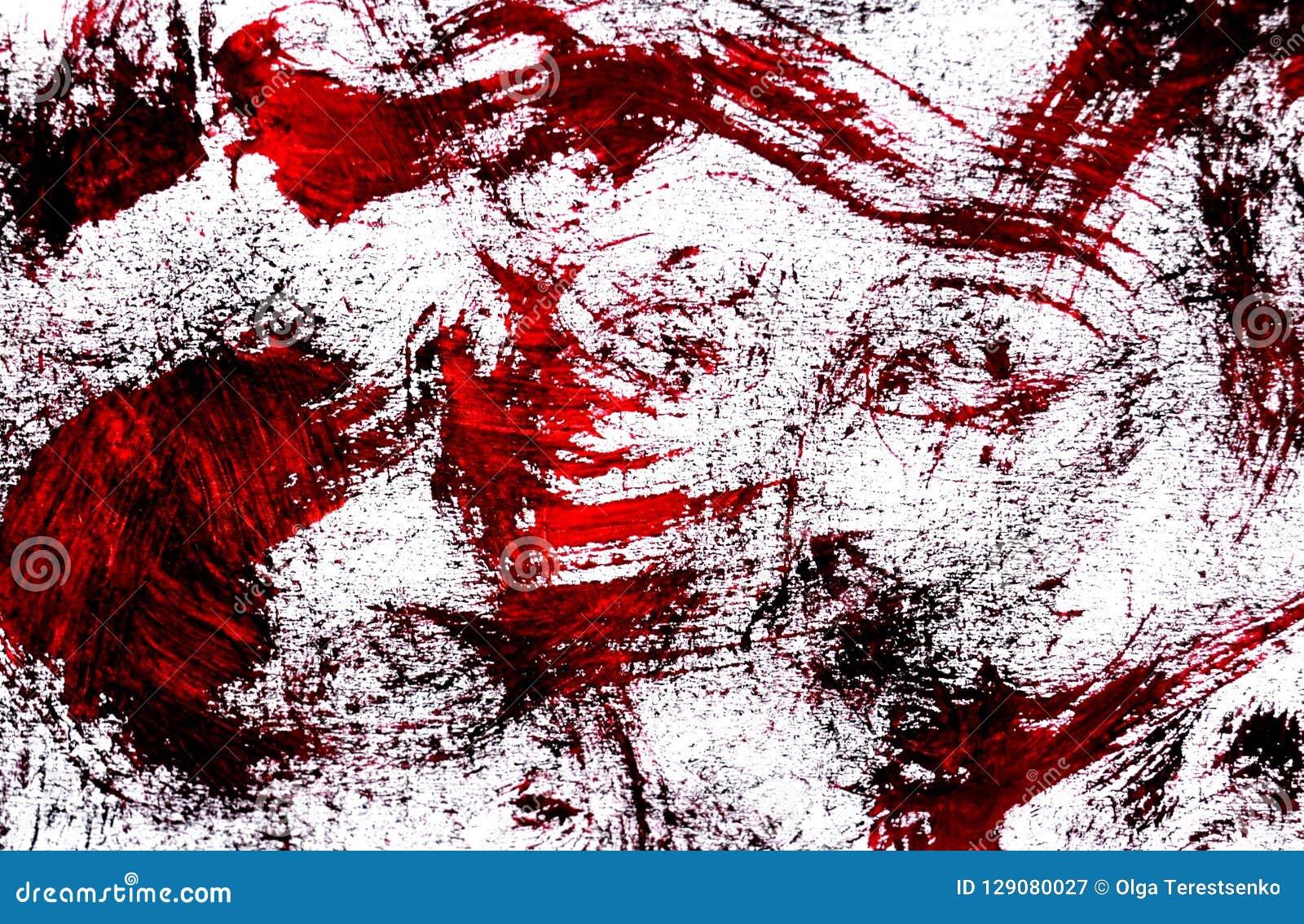 一张抽象水彩绘画的照片