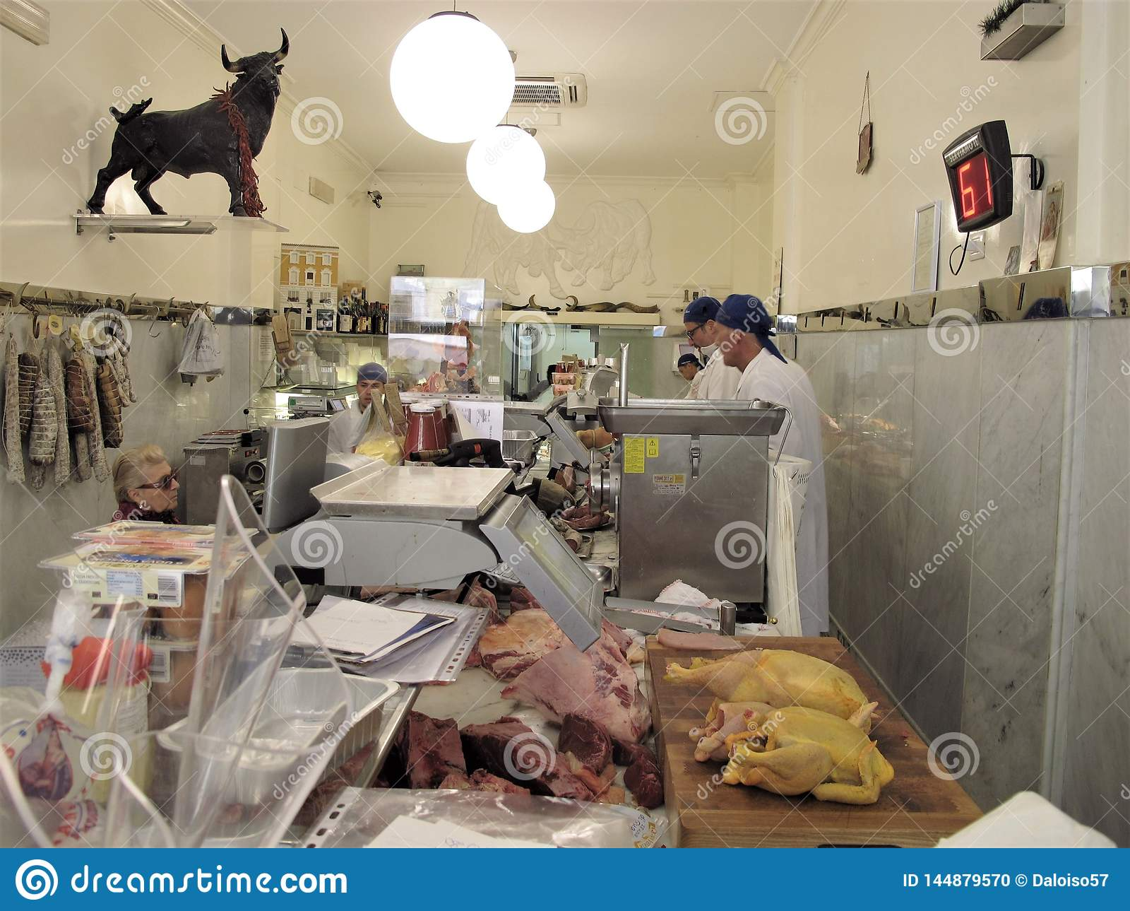一最佳的肉店在罗马