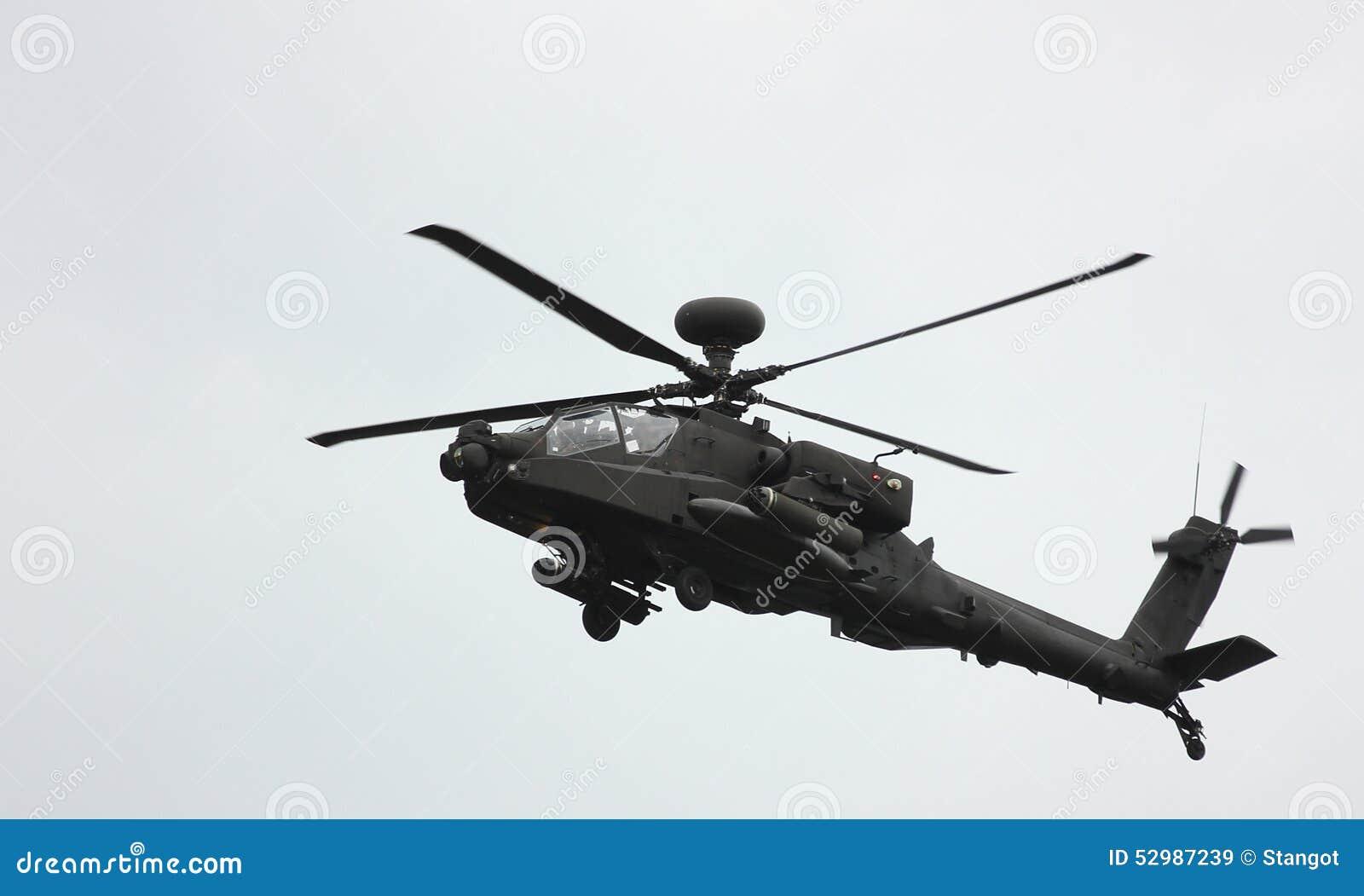 一架直升机