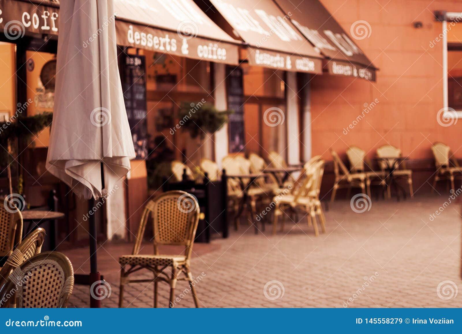 一点舒适咖啡馆在一点镇里