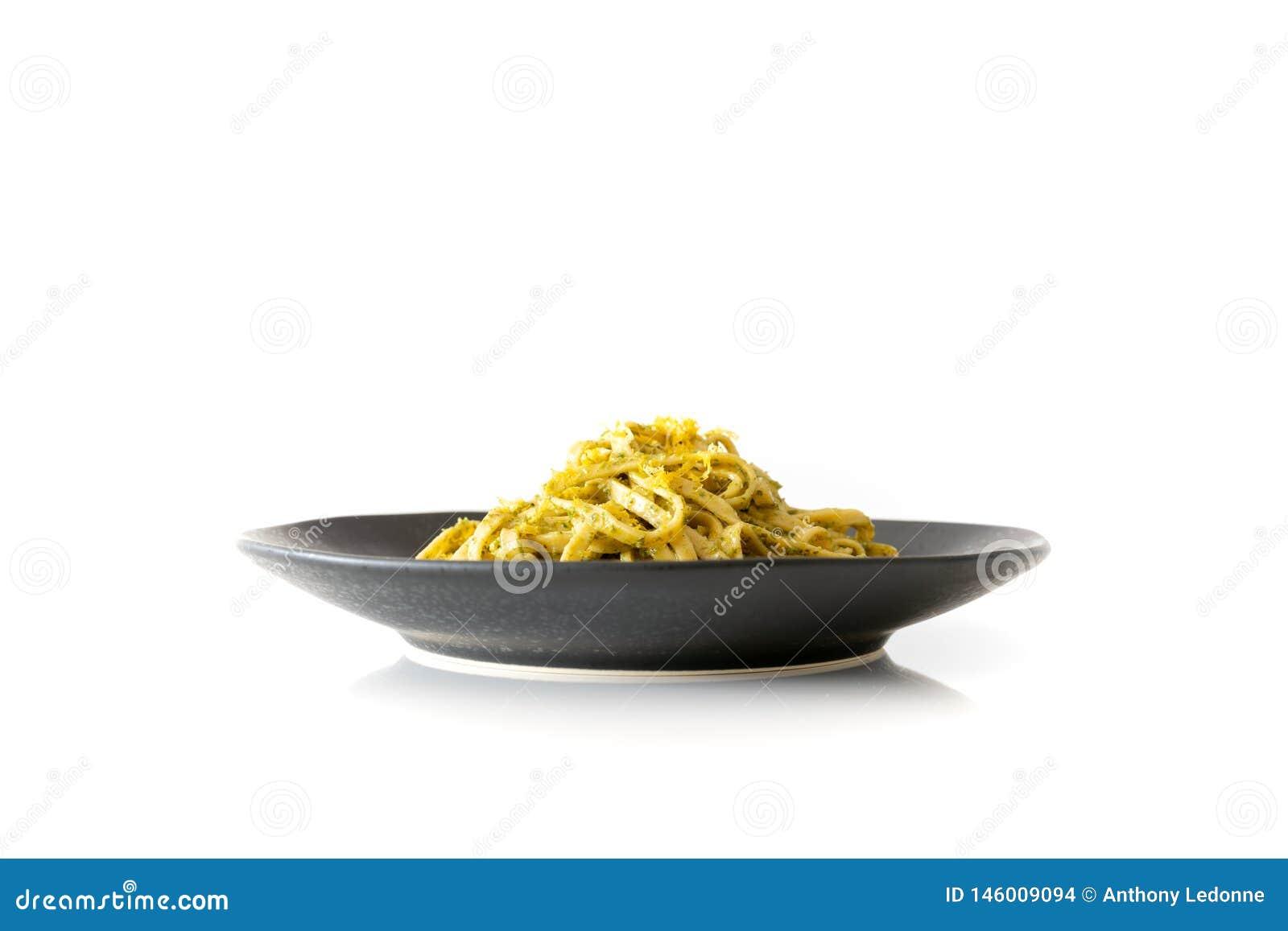 一碗Pesto面团