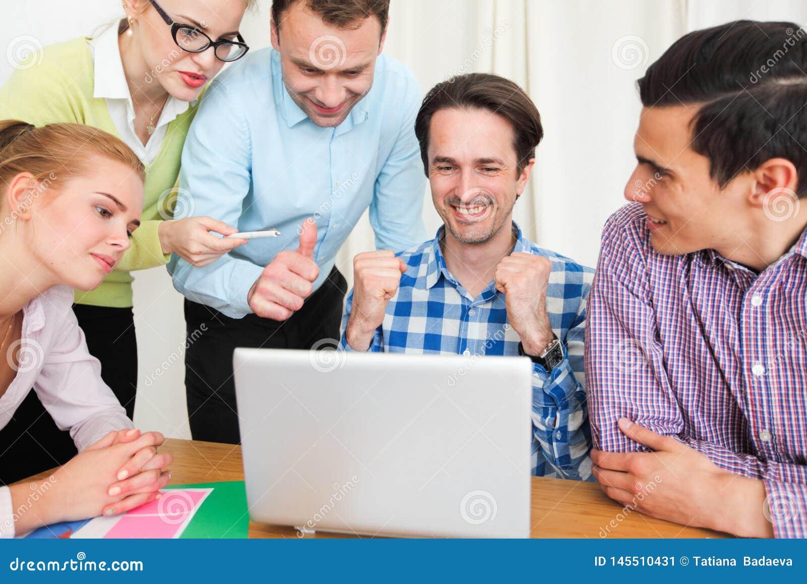 一起企业团队工作