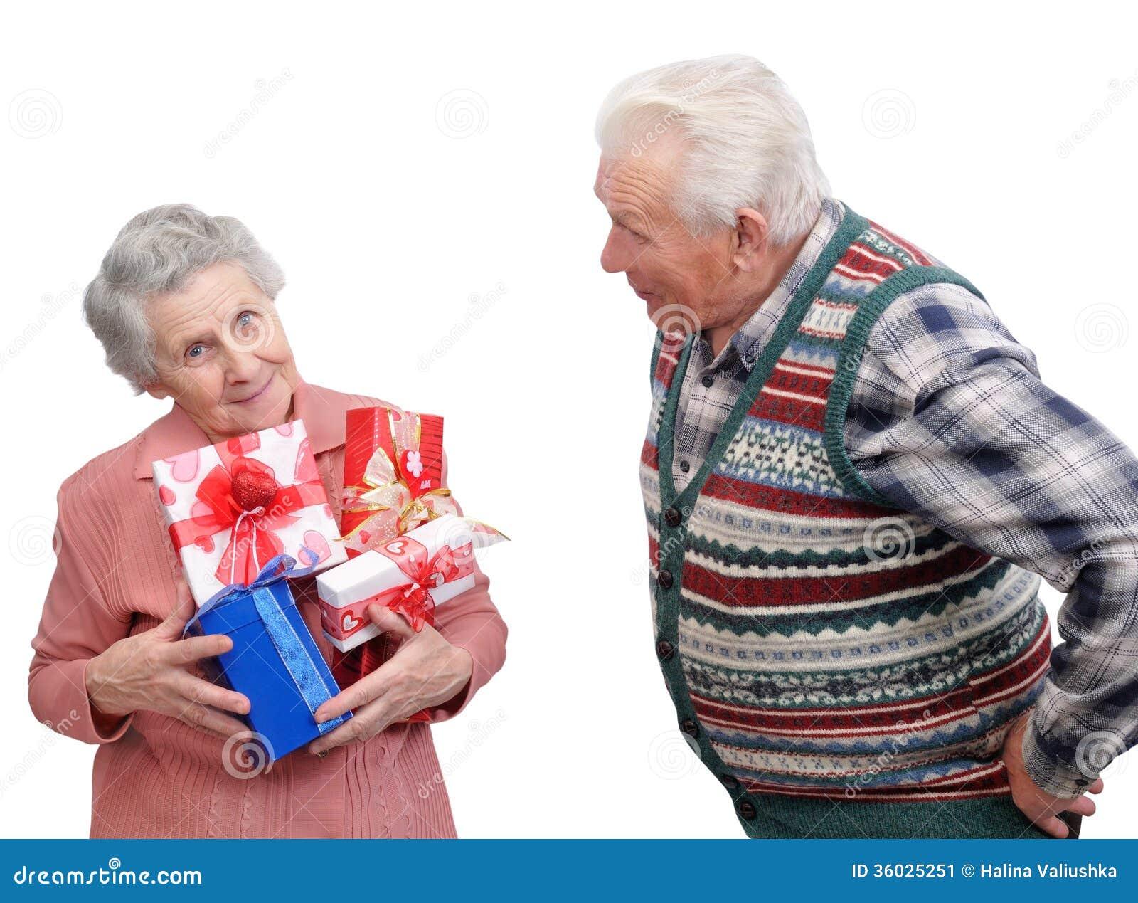一起祖母和祖父