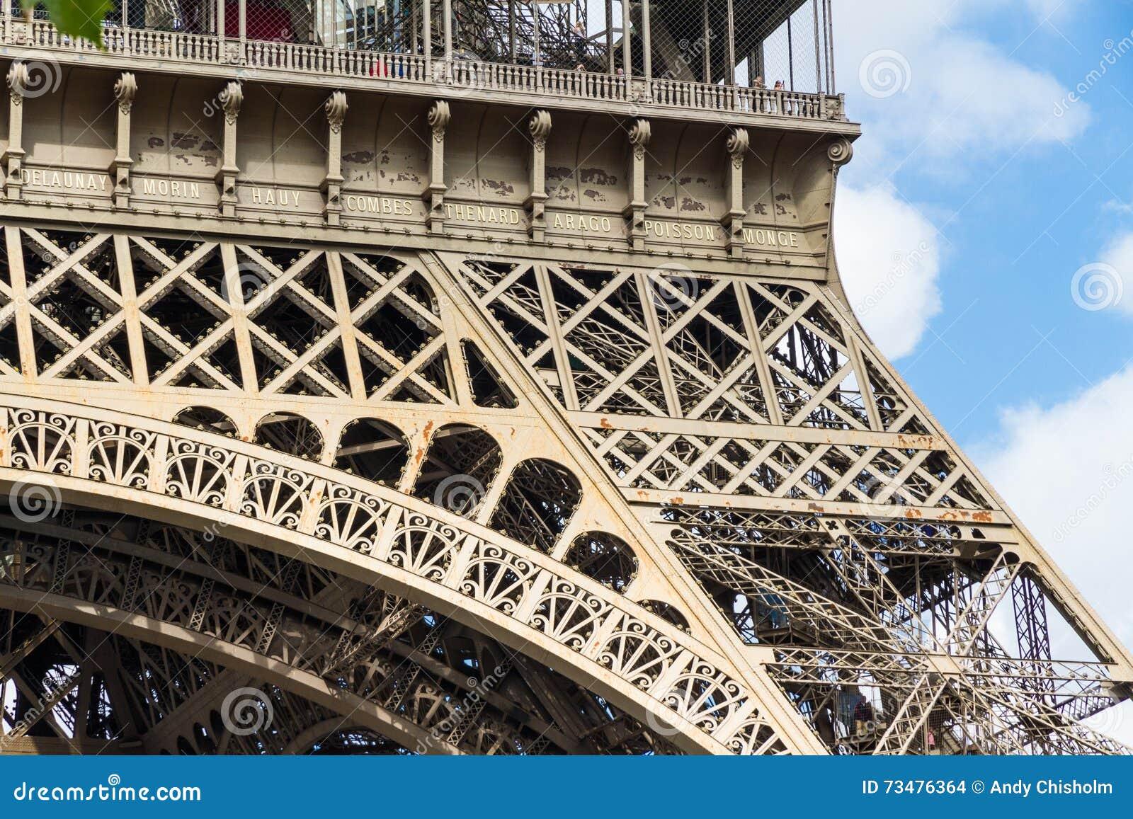 一部分的艾菲尔铁塔