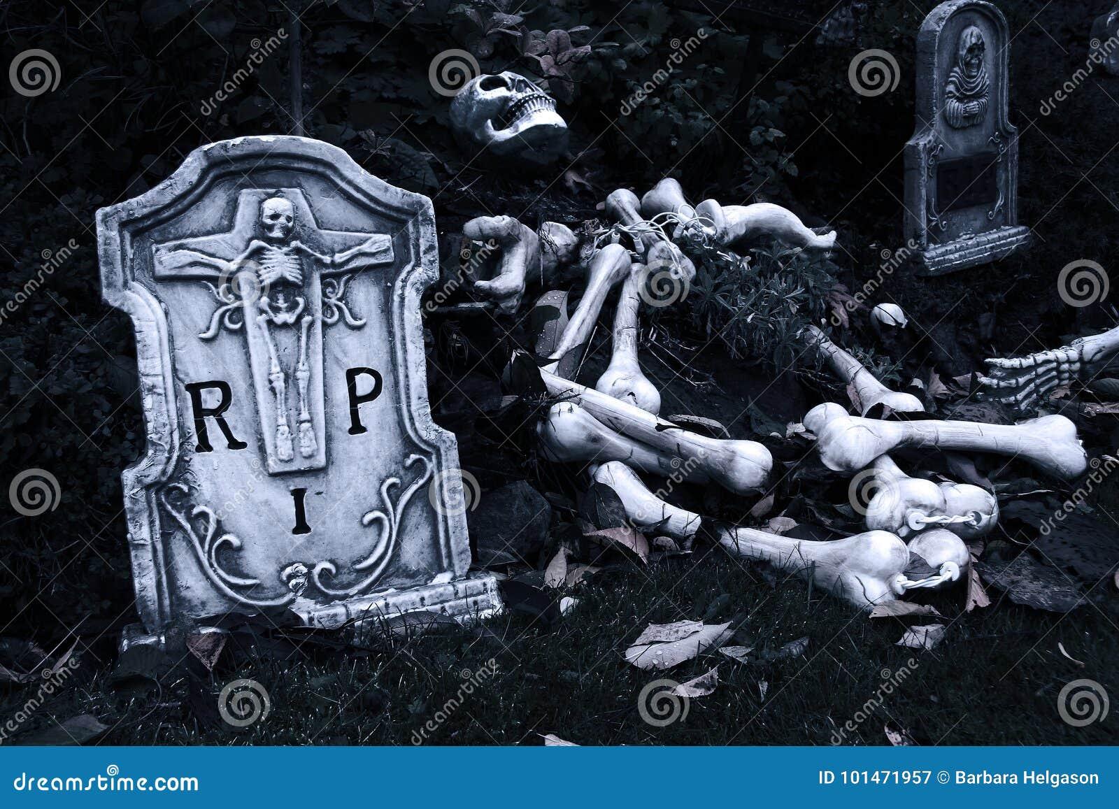 万圣节坟园
